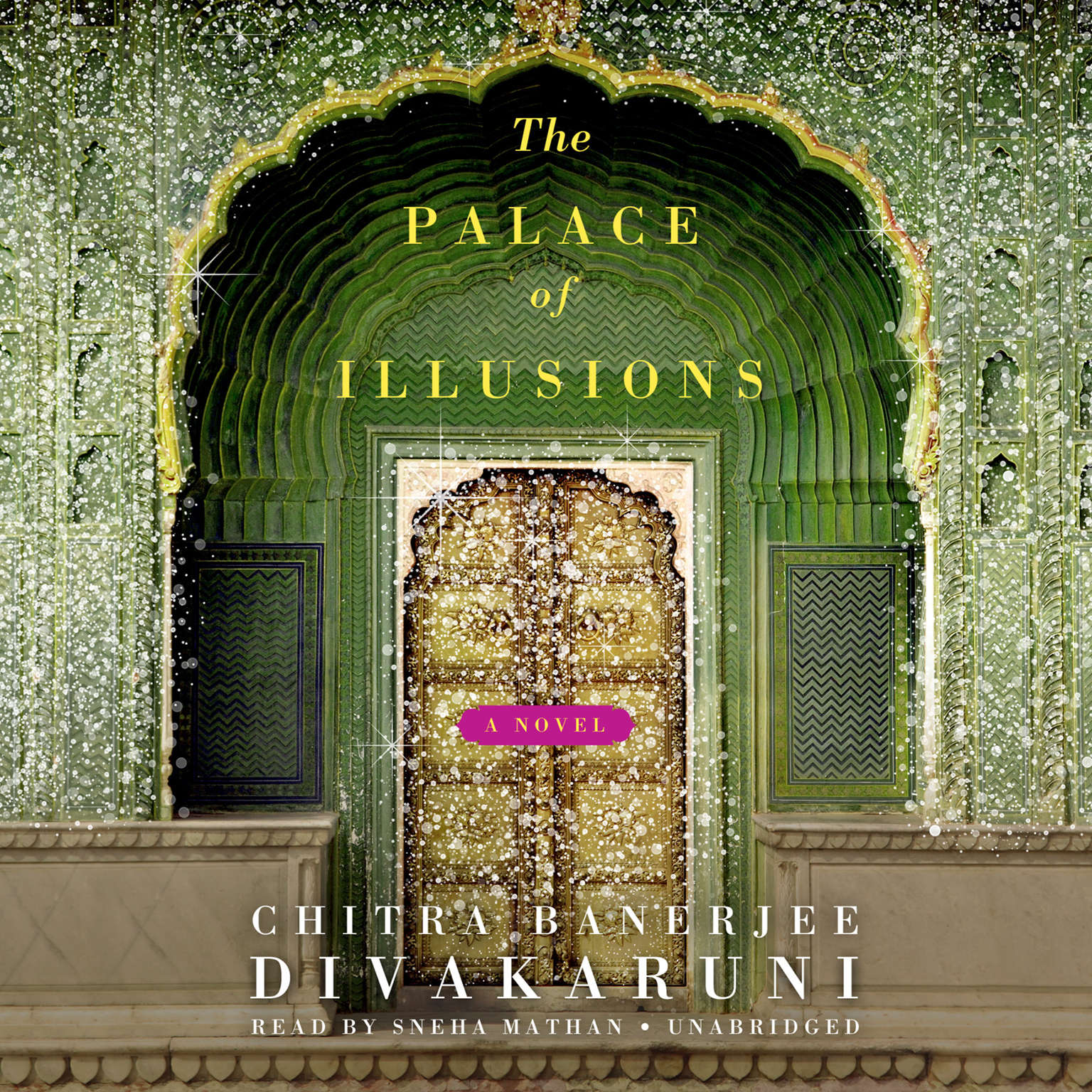 Printable The Palace of Illusions: A Novel Audiobook Cover Art