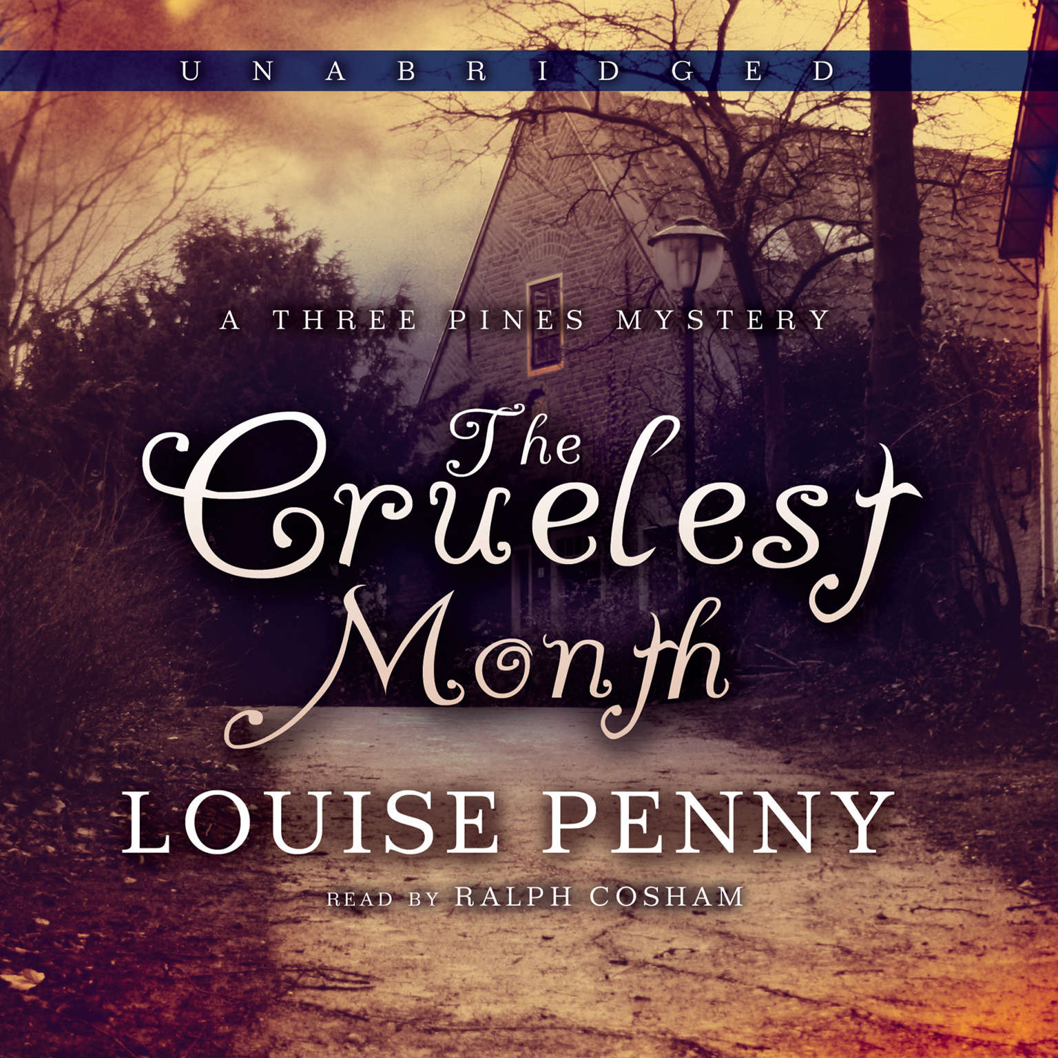 Printable The Cruelest Month: A Three Pines Mystery Audiobook Cover Art