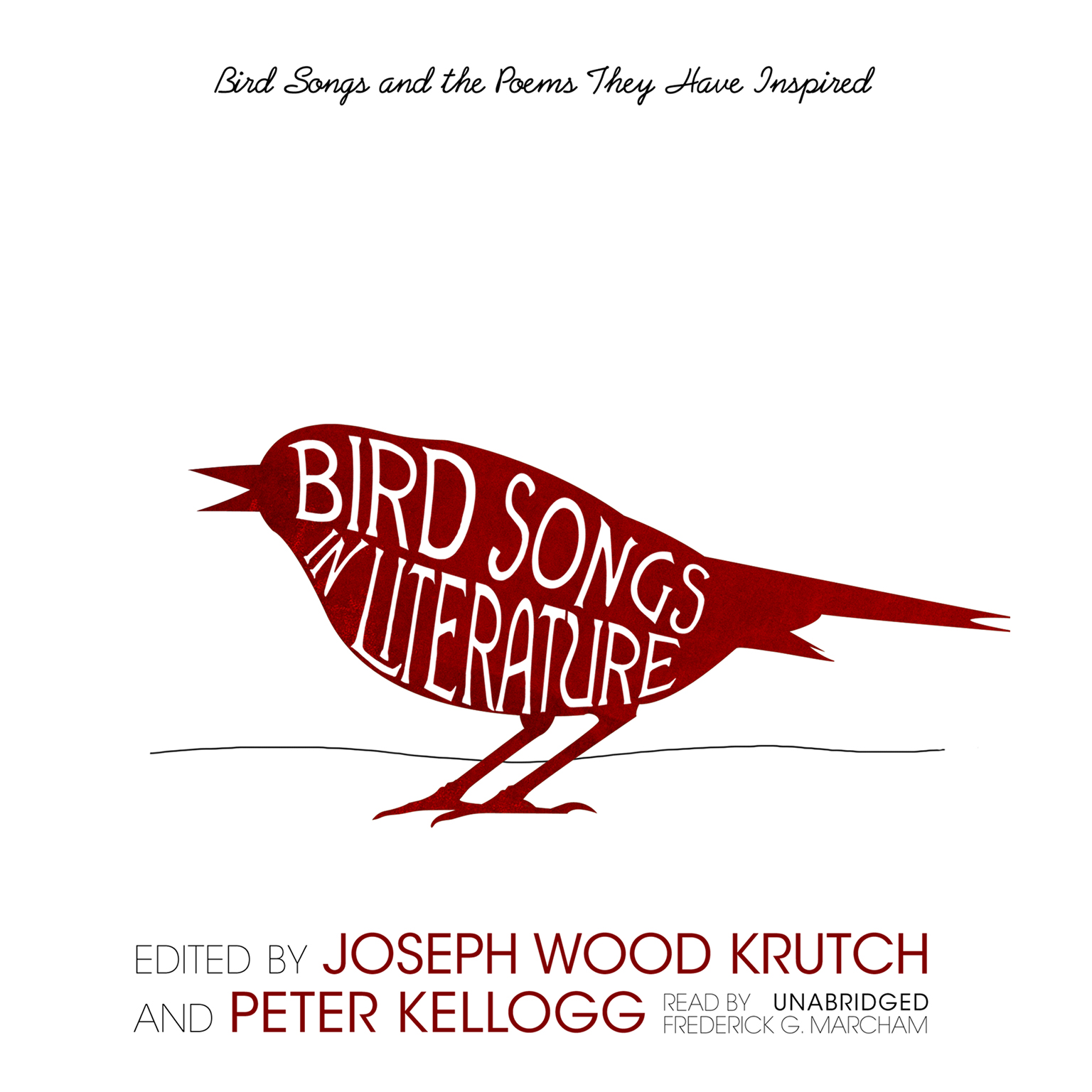 Printable Bird Songs in Literature: Bird Songs and the Poems They Have Inspired Audiobook Cover Art