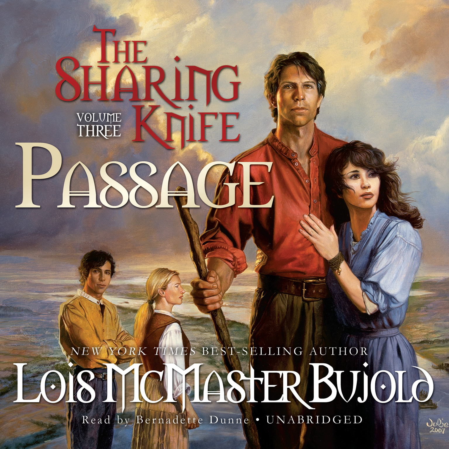 Printable The Sharing Knife, Vol. 3: Passage Audiobook Cover Art