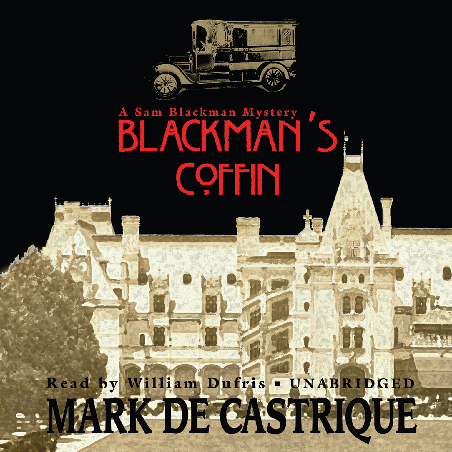 Printable Blackman's Coffin Audiobook Cover Art