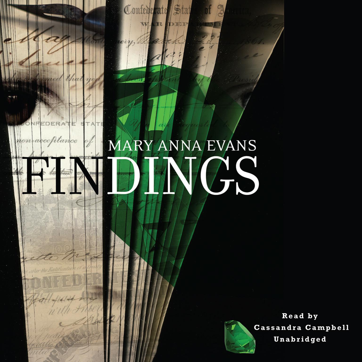 Printable Findings Audiobook Cover Art