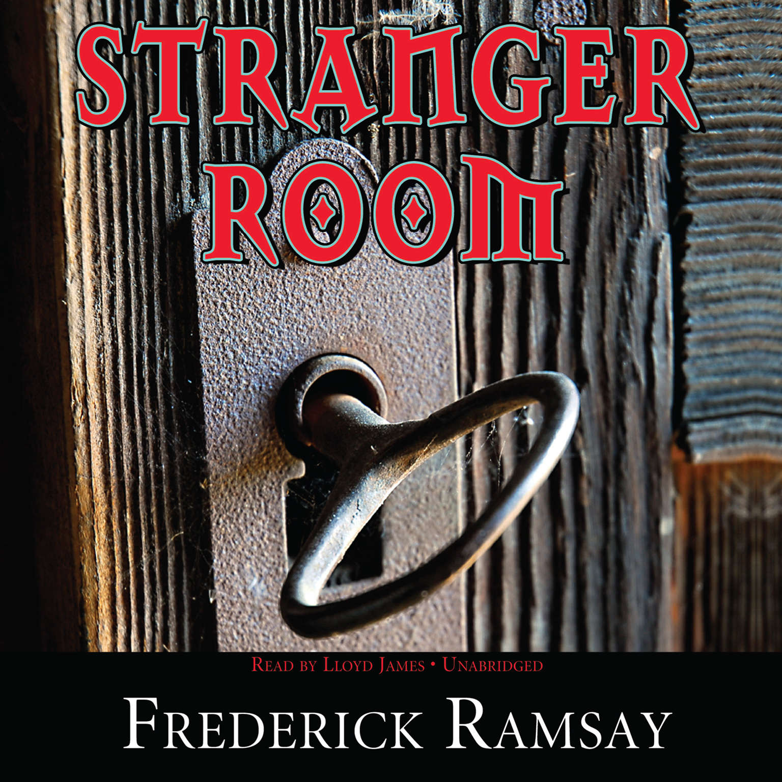 Printable Stranger Room Audiobook Cover Art