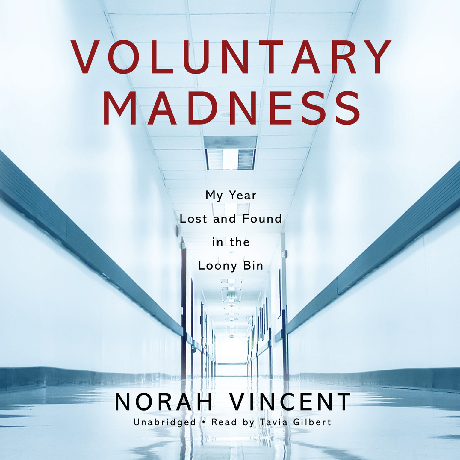Printable Voluntary Madness: My Year Lost and Found in the Loony Bin Audiobook Cover Art