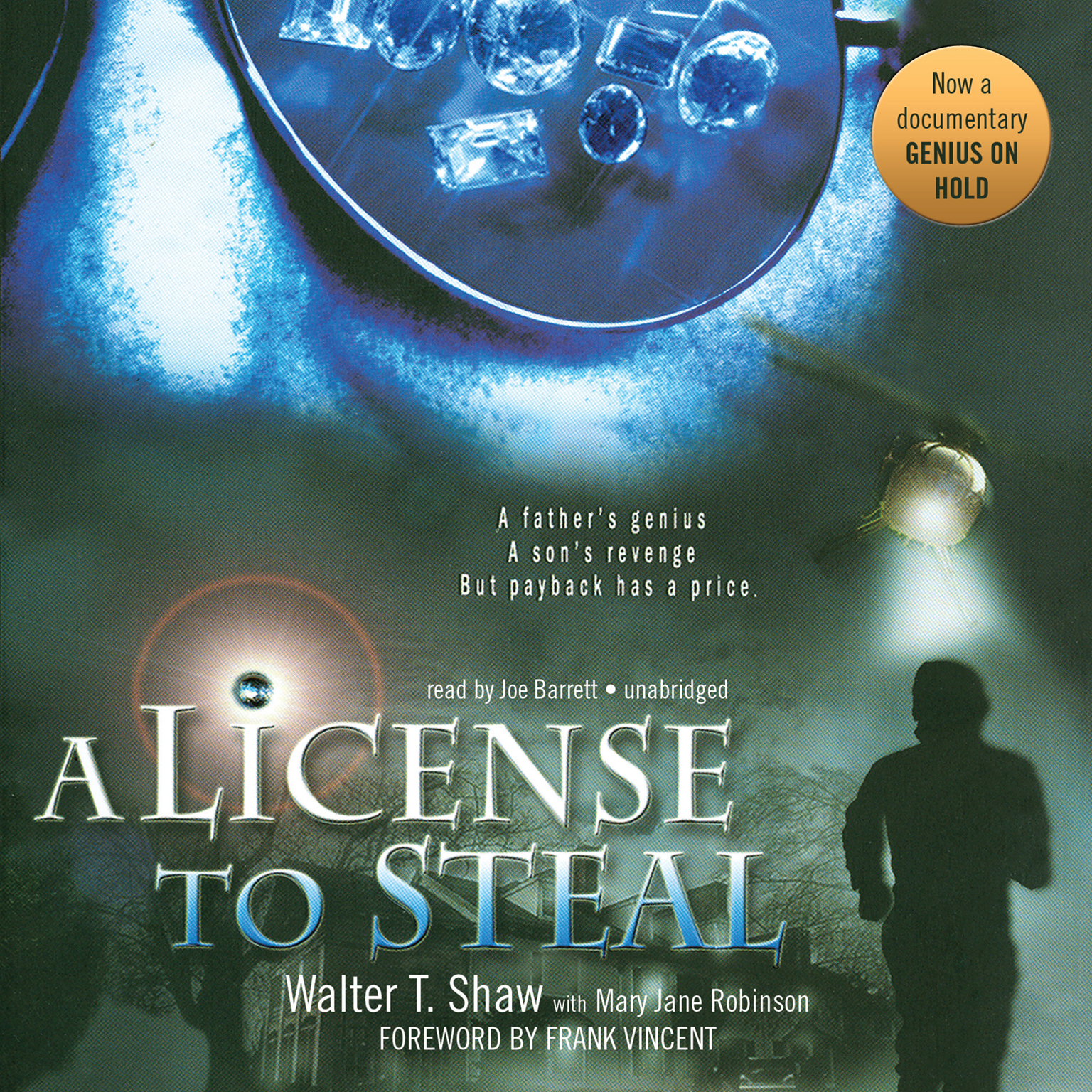 Printable A License to Steal Audiobook Cover Art