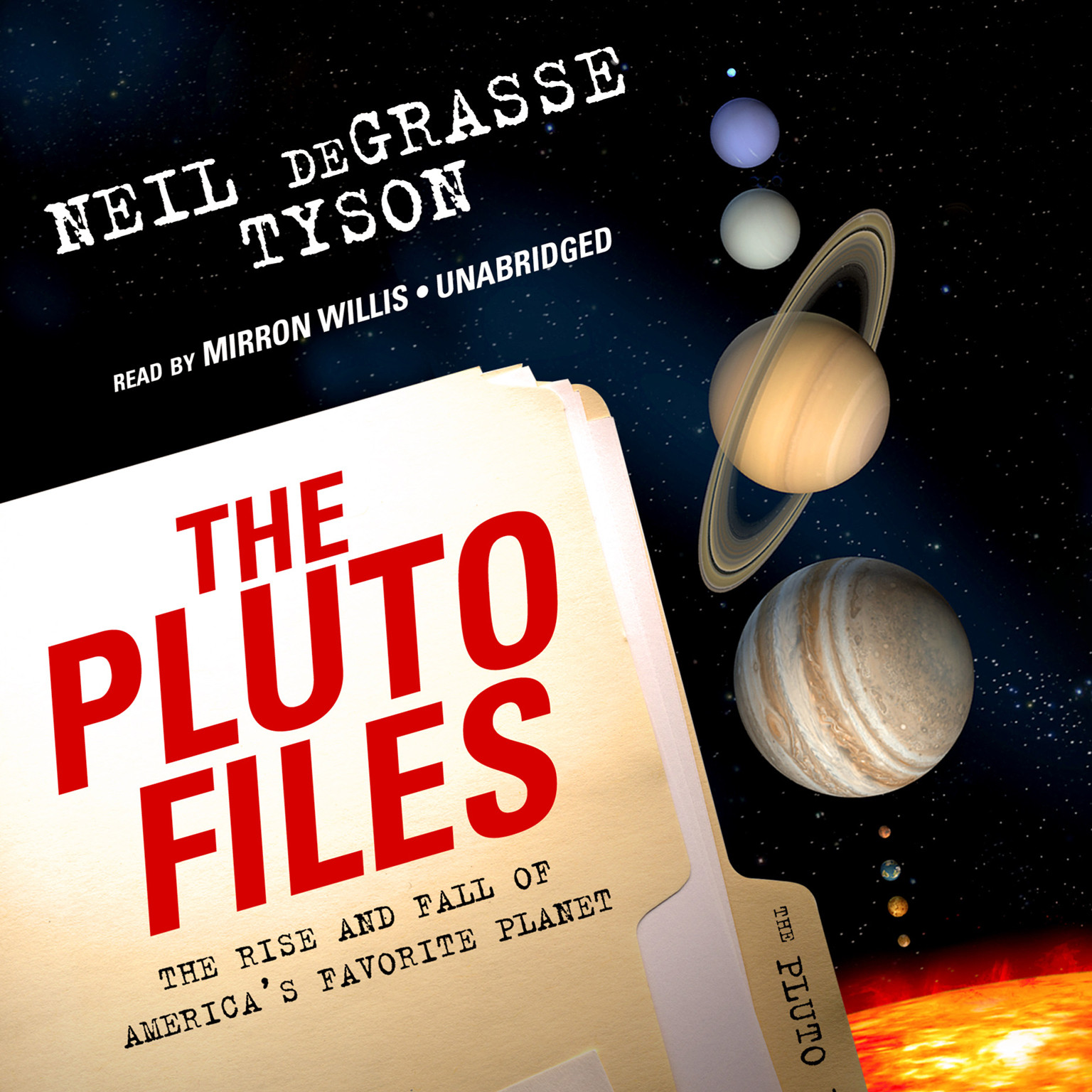 Printable The Pluto Files: The Rise and Fall of America's Favorite Planet Audiobook Cover Art