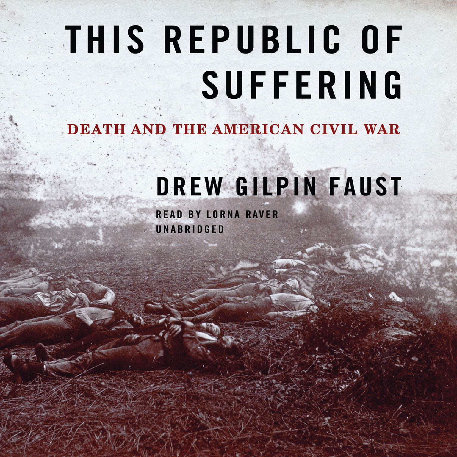 Printable This Republic of Suffering: Death and the American Civil War Audiobook Cover Art