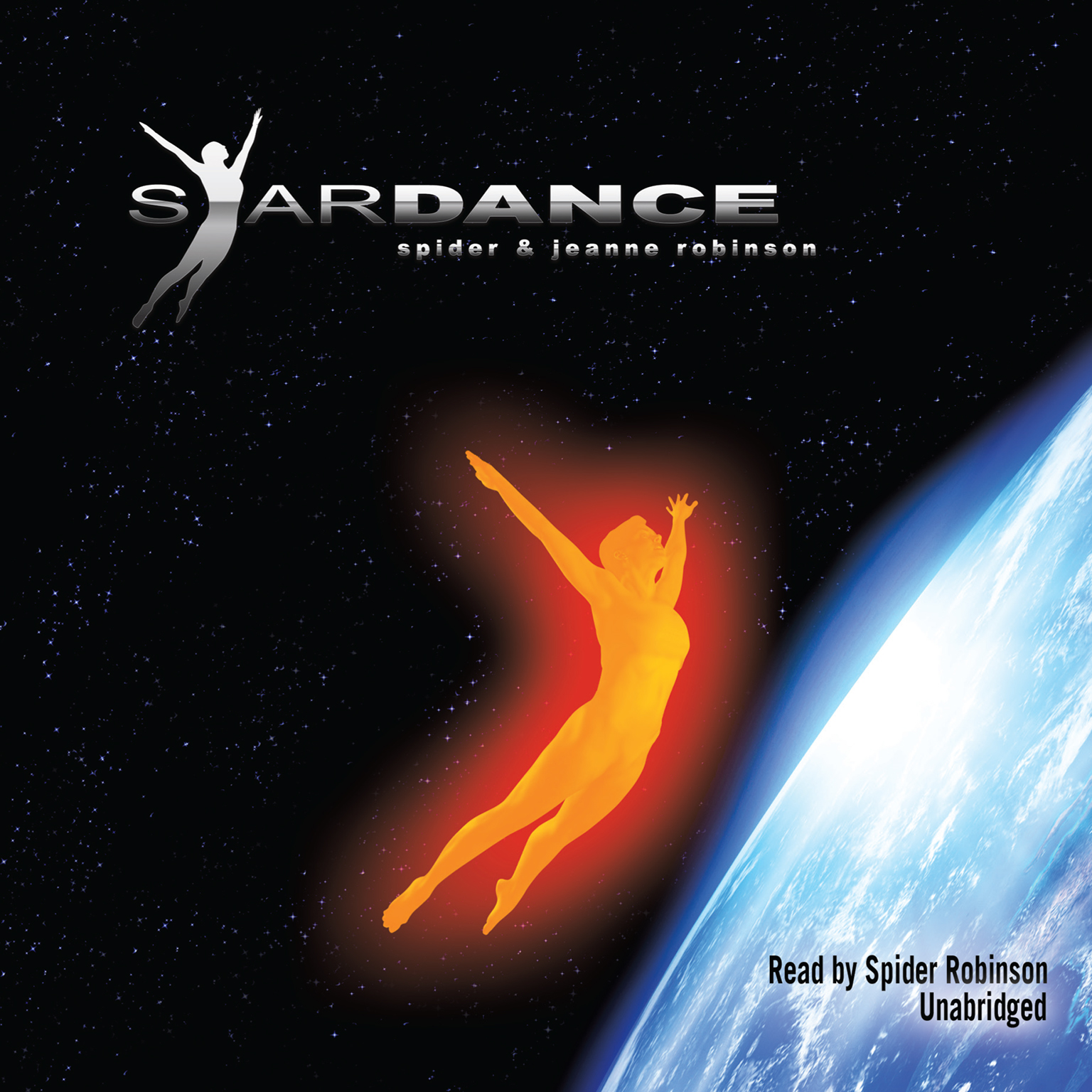 Printable Stardance Audiobook Cover Art