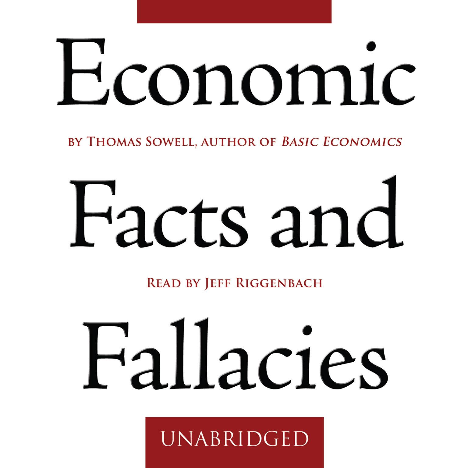 Printable Economic Facts and Fallacies Audiobook Cover Art