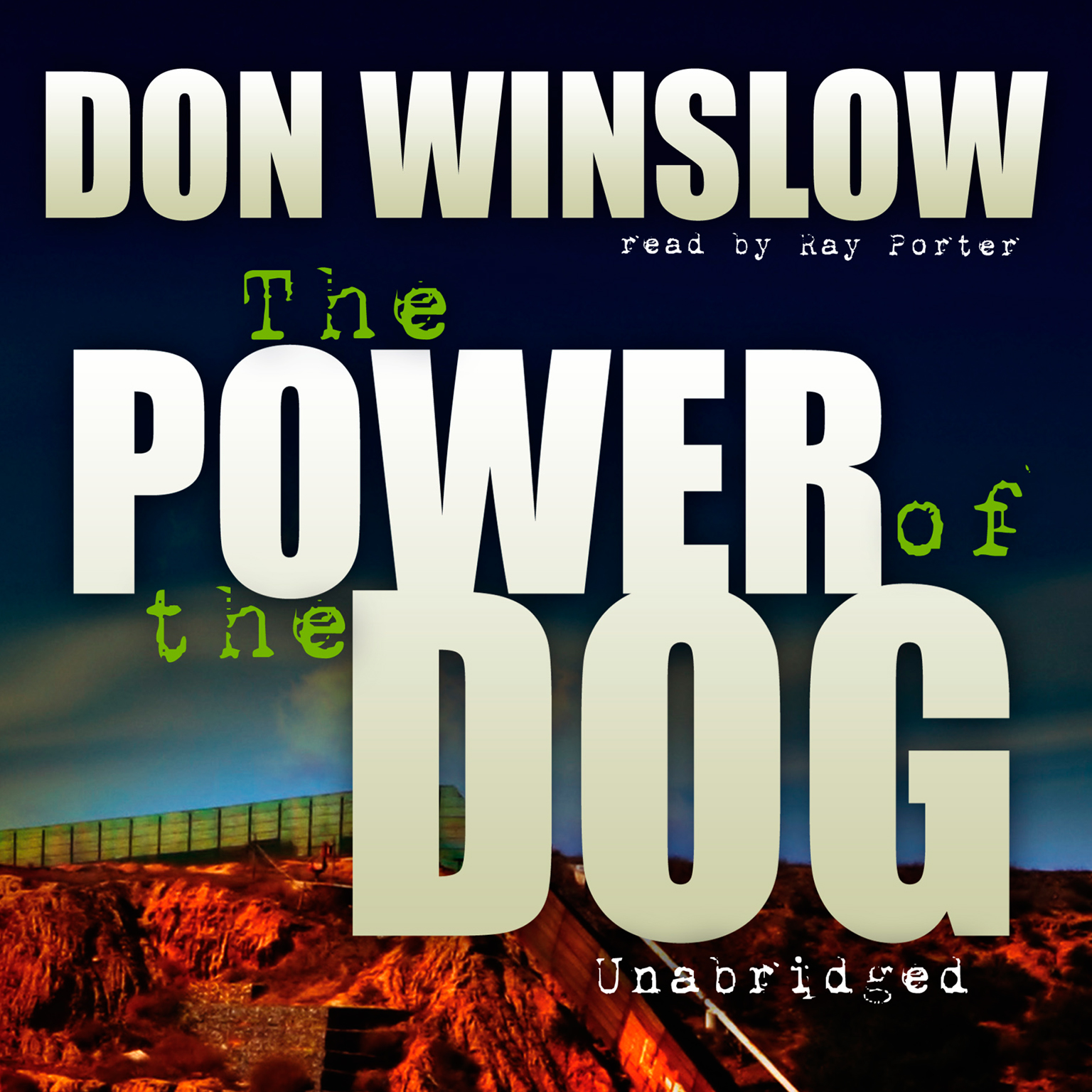 Printable The Power of the Dog Audiobook Cover Art