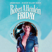 Friday Audiobook, by Robert A. Heinlein