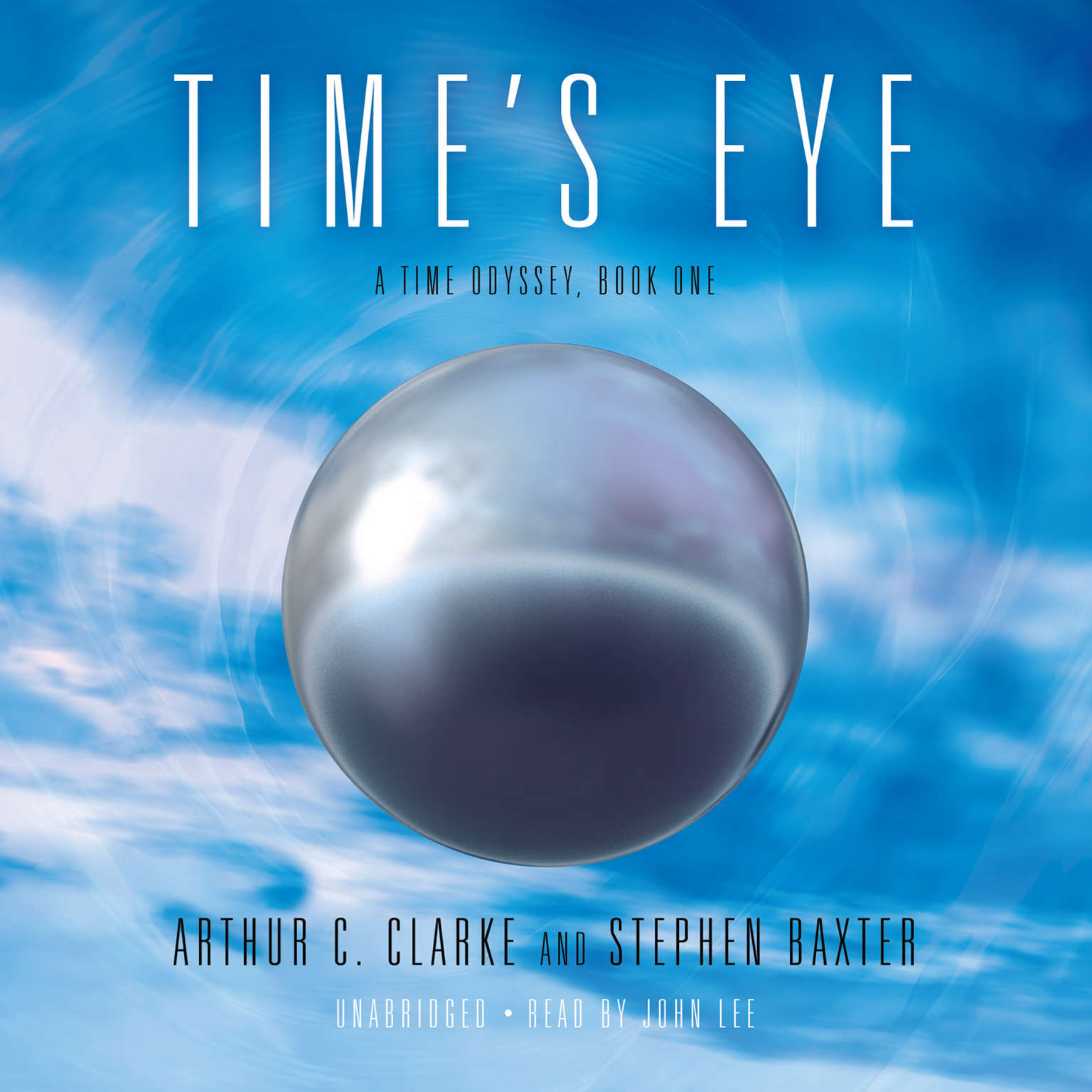 Printable Time's Eye Audiobook Cover Art