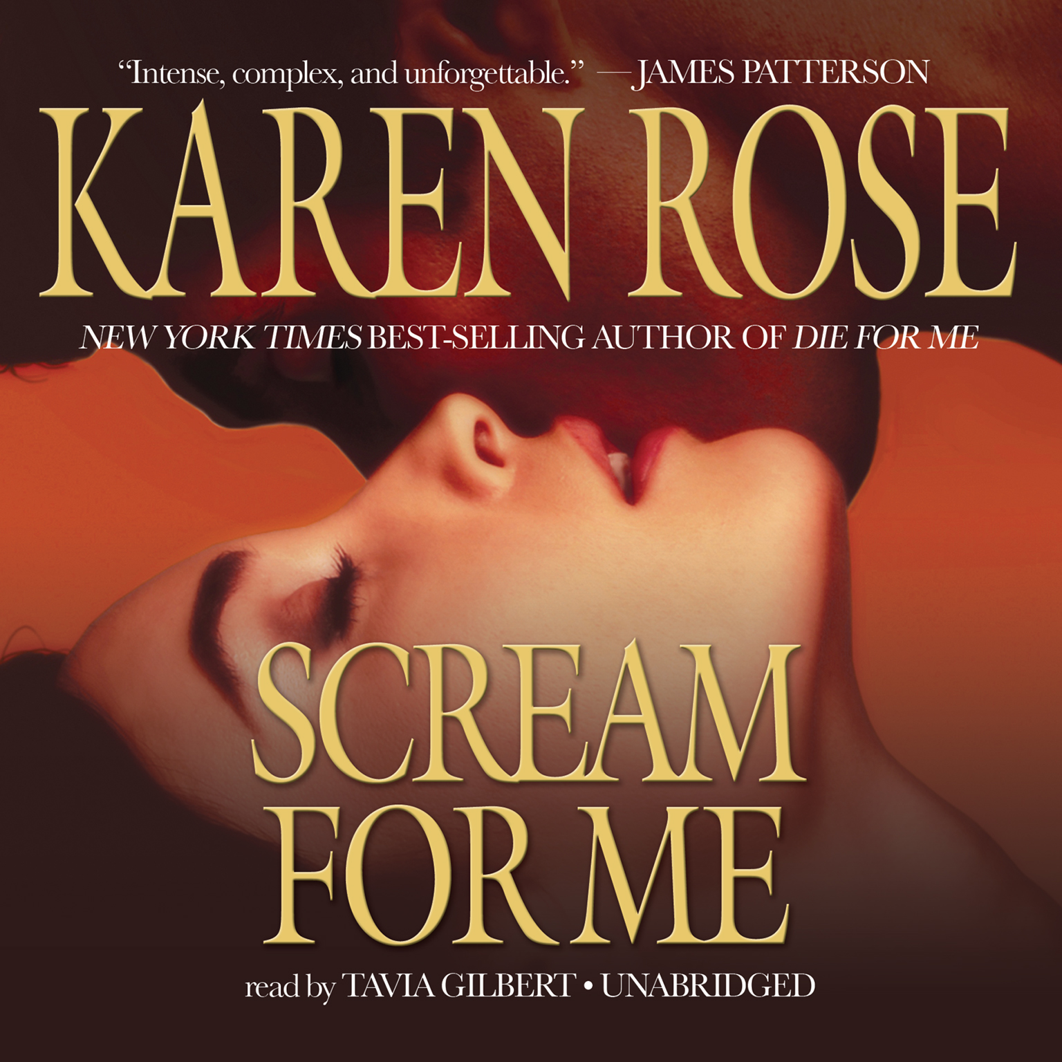 Printable Scream for Me Audiobook Cover Art
