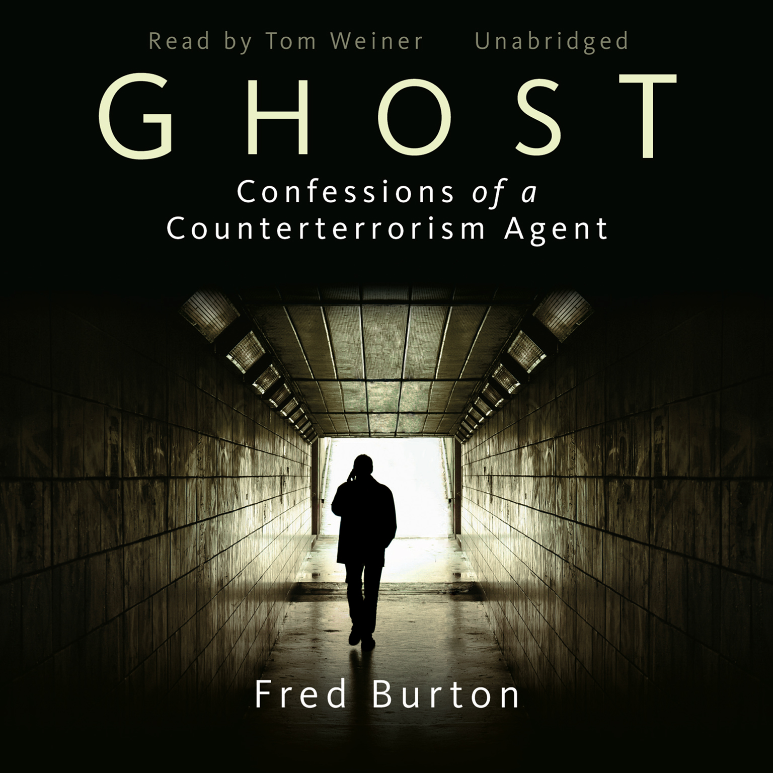 Printable Ghost: Confessions of a Counterterrorism Agent Audiobook Cover Art