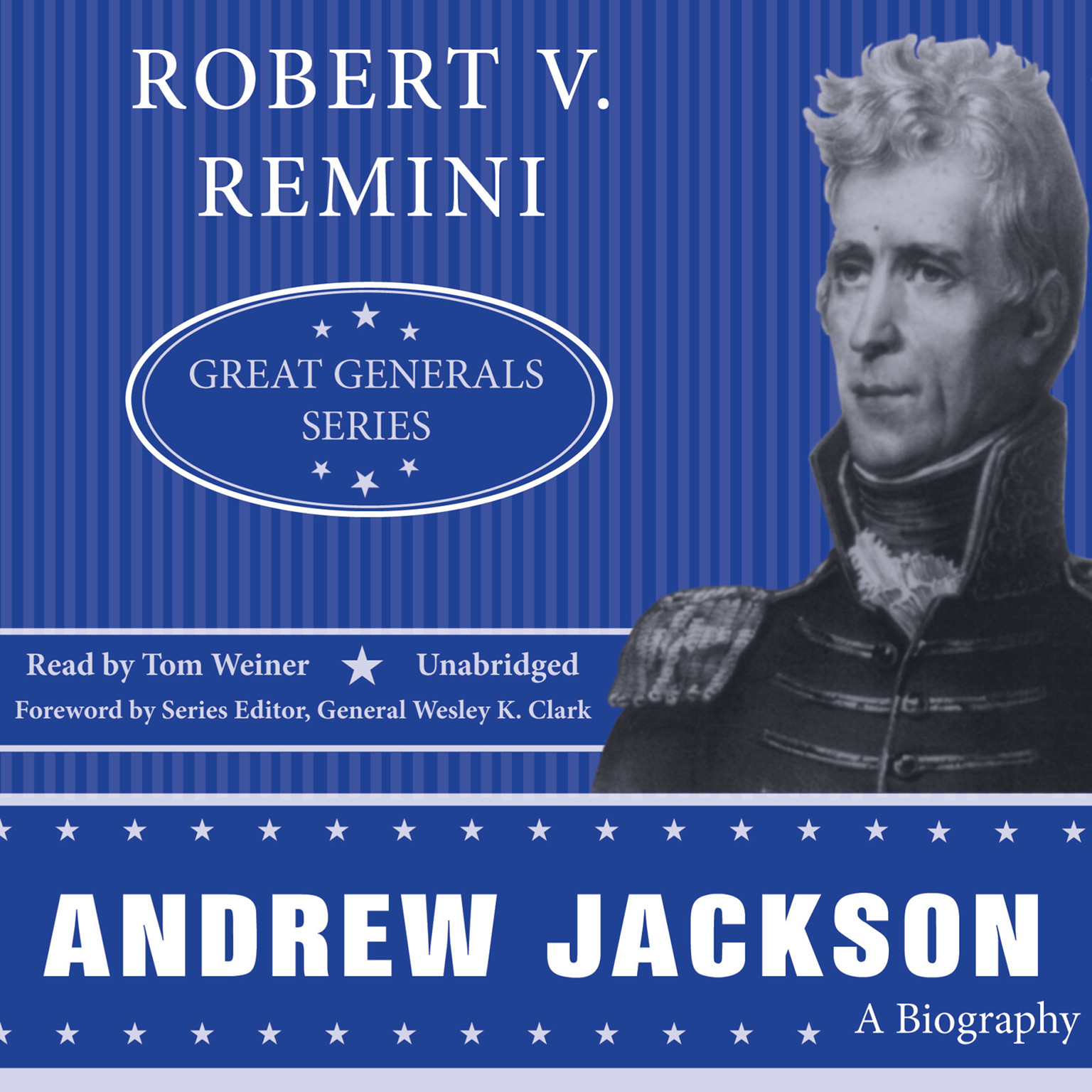 Printable Andrew Jackson: A Biography Audiobook Cover Art