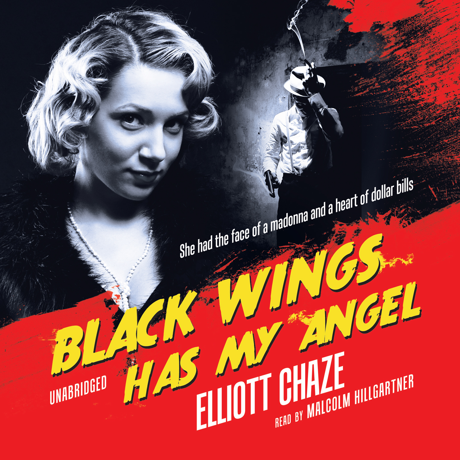 Printable Black Wings Has My Angel Audiobook Cover Art