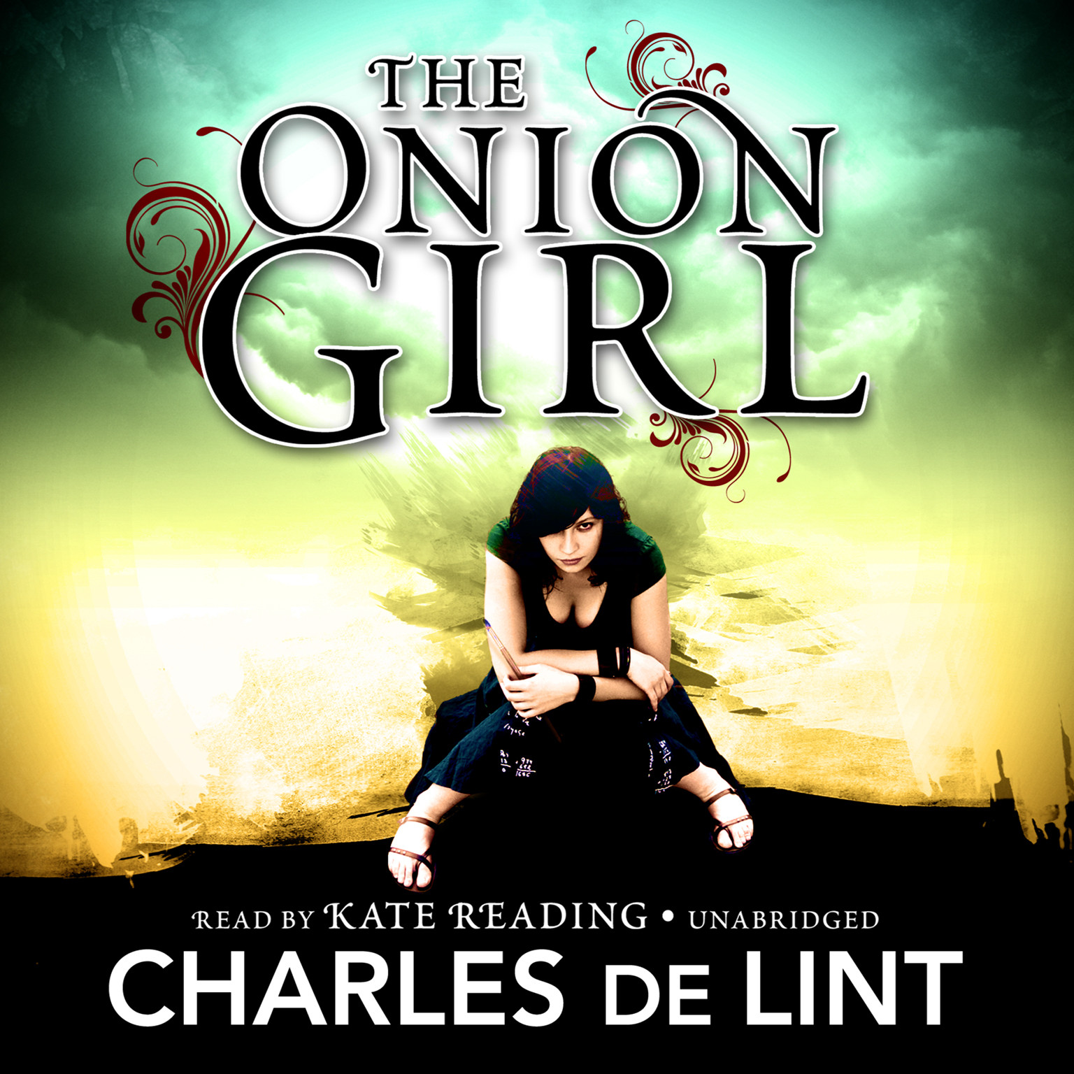 Printable The Onion Girl Audiobook Cover Art