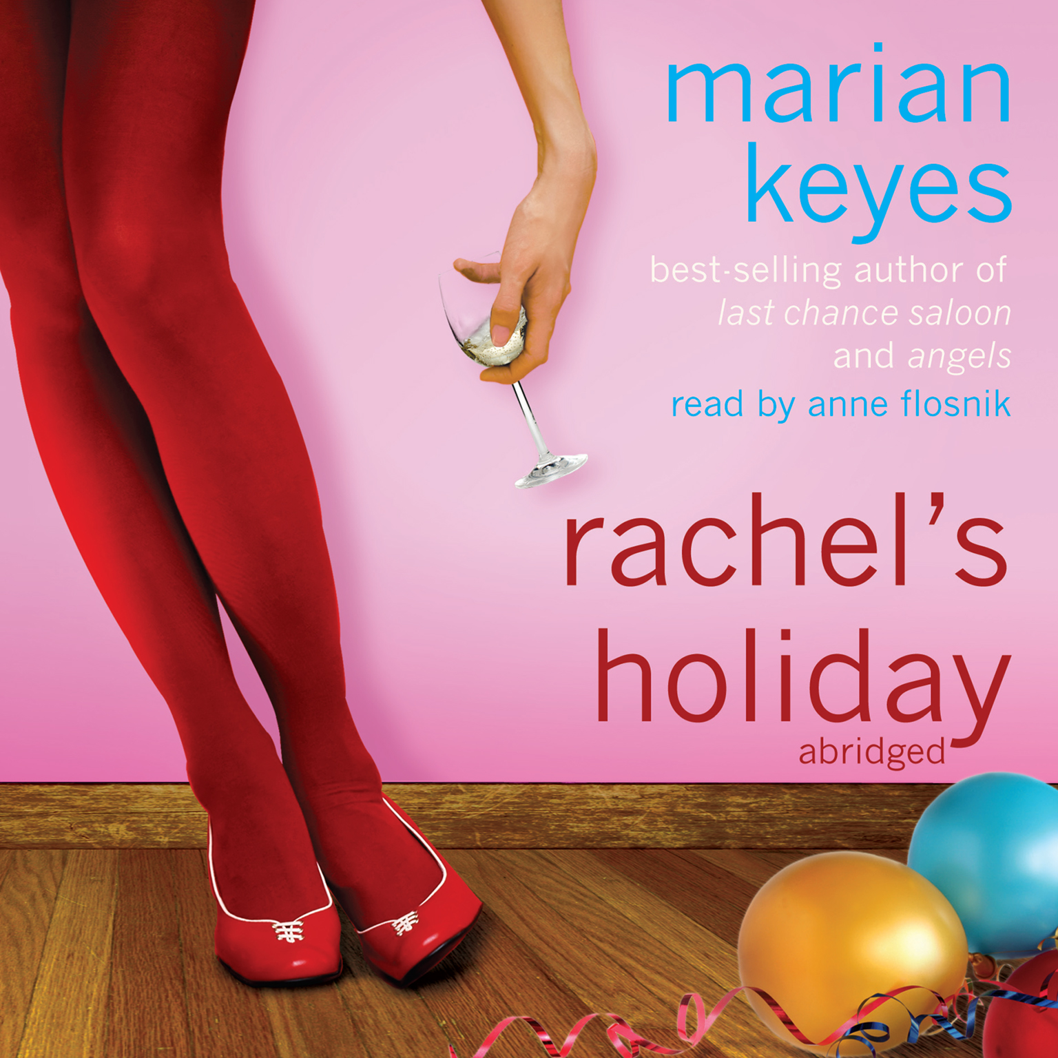 Printable Rachel's Holiday Audiobook Cover Art