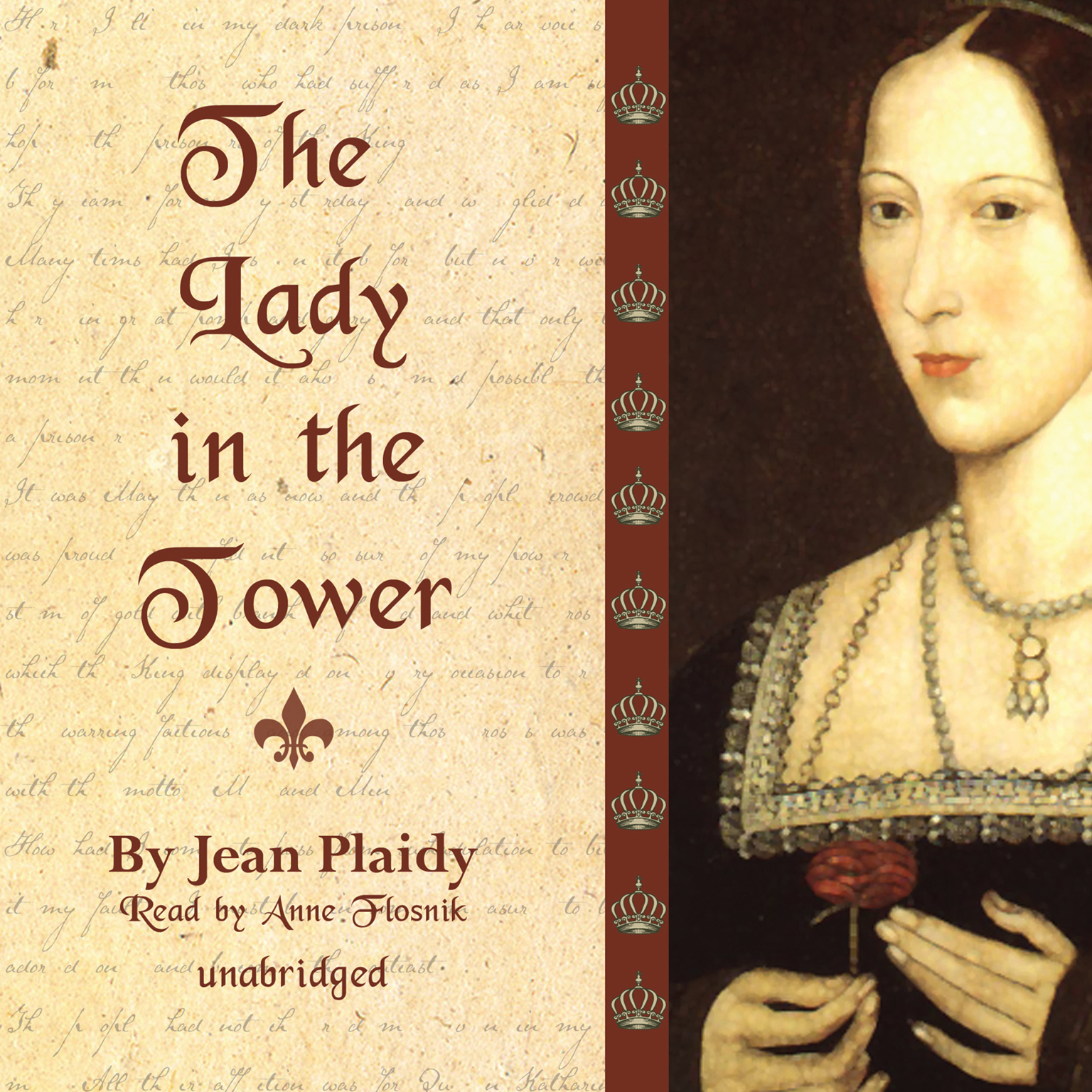 Printable The Lady in the Tower: The Wives of Henry VIII Audiobook Cover Art