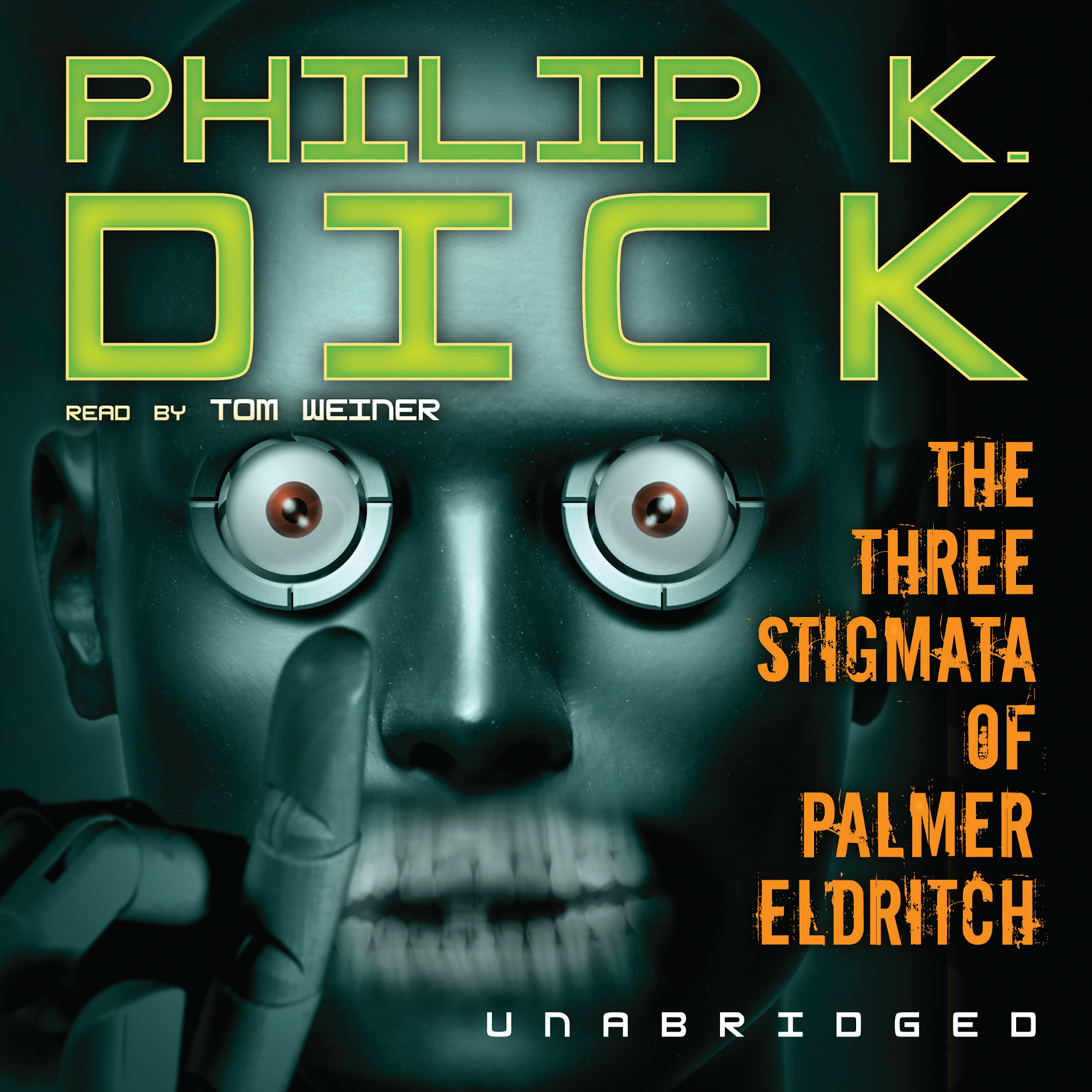 Printable The Three Stigmata of Palmer Eldritch Audiobook Cover Art