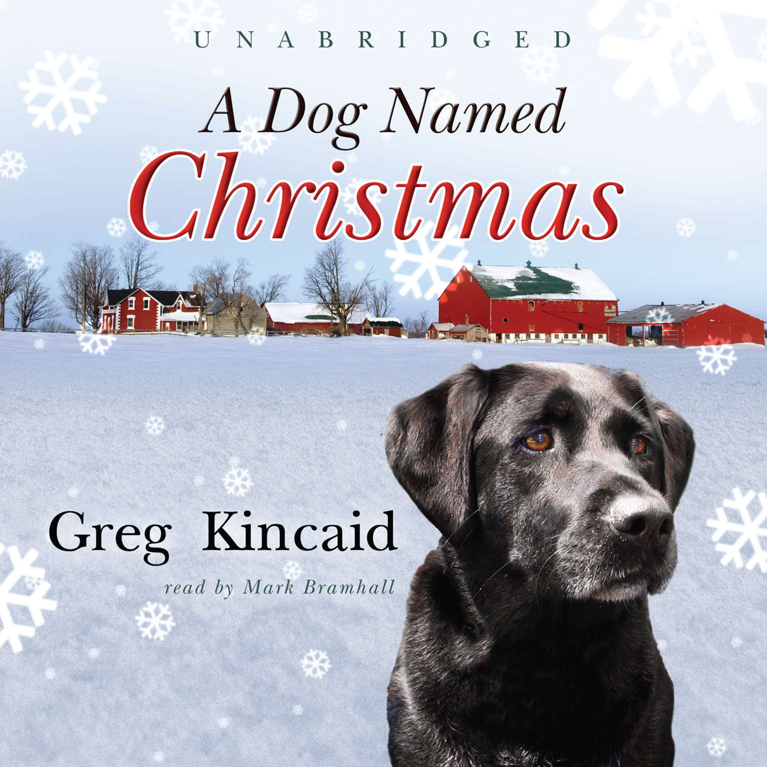 Printable A Dog Named Christmas Audiobook Cover Art