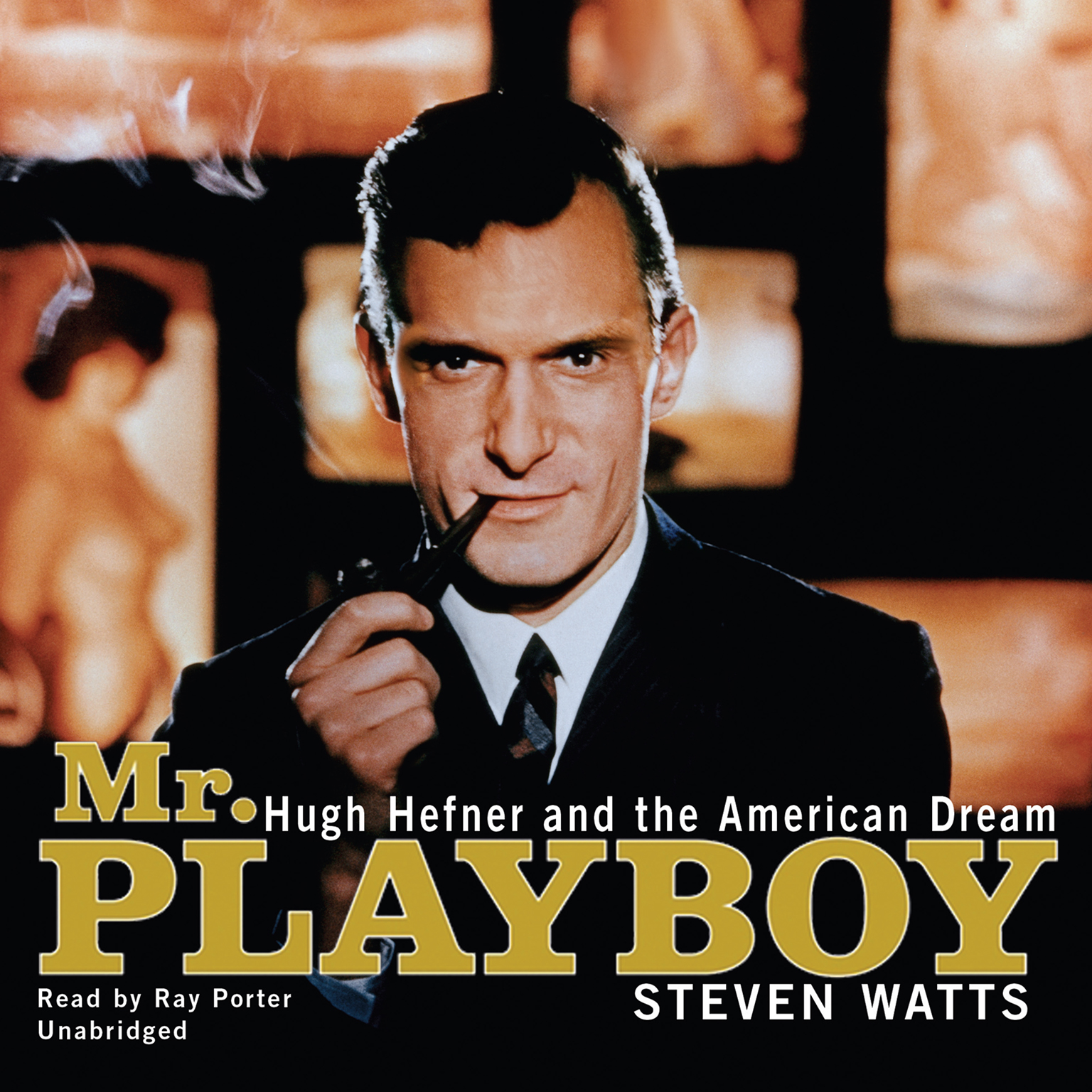 Printable Mr. Playboy: Hugh Hefner and the American Dream Audiobook Cover Art