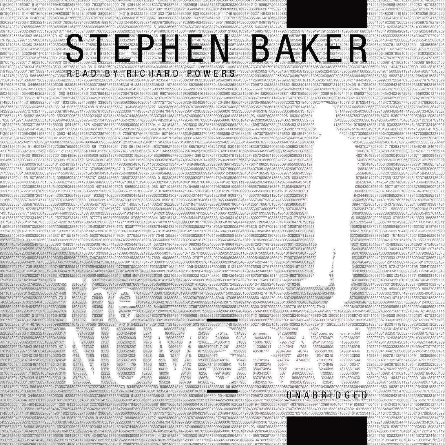 Printable The Numerati Audiobook Cover Art
