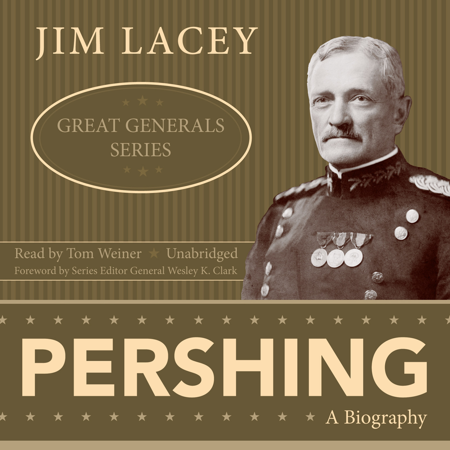 Printable Pershing: A Biography Audiobook Cover Art