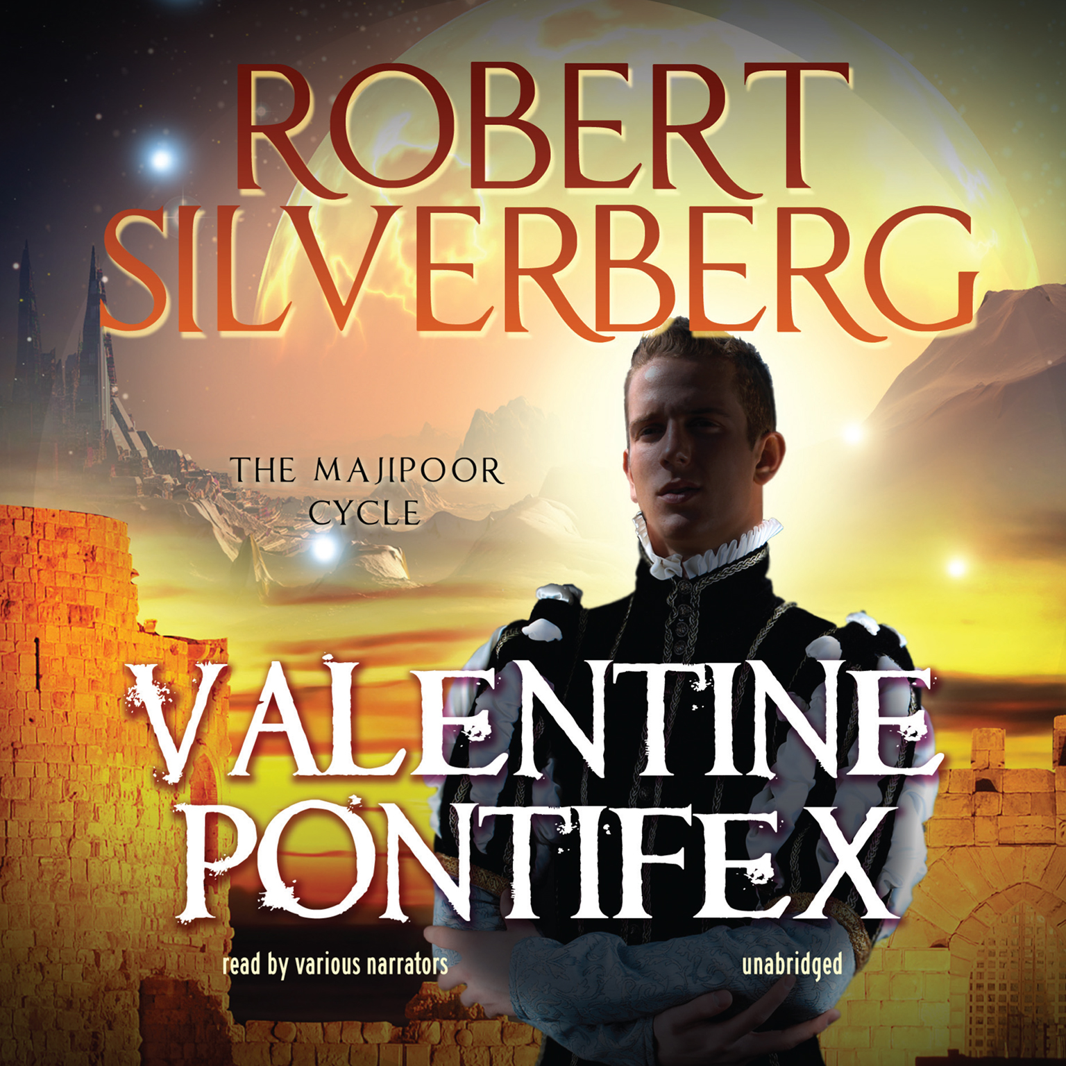 Printable Valentine Pontifex Audiobook Cover Art