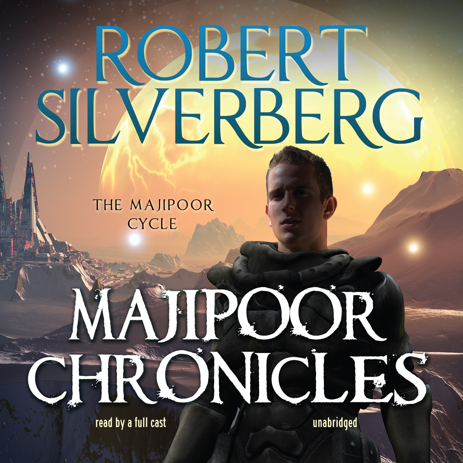 Printable Majipoor Chronicles Audiobook Cover Art