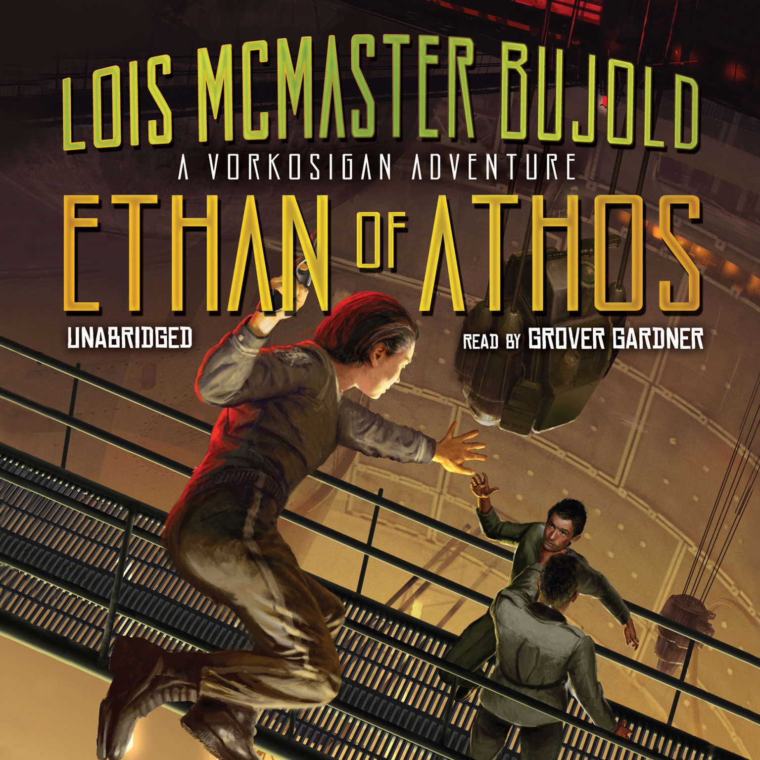 Printable Ethan of Athos Audiobook Cover Art