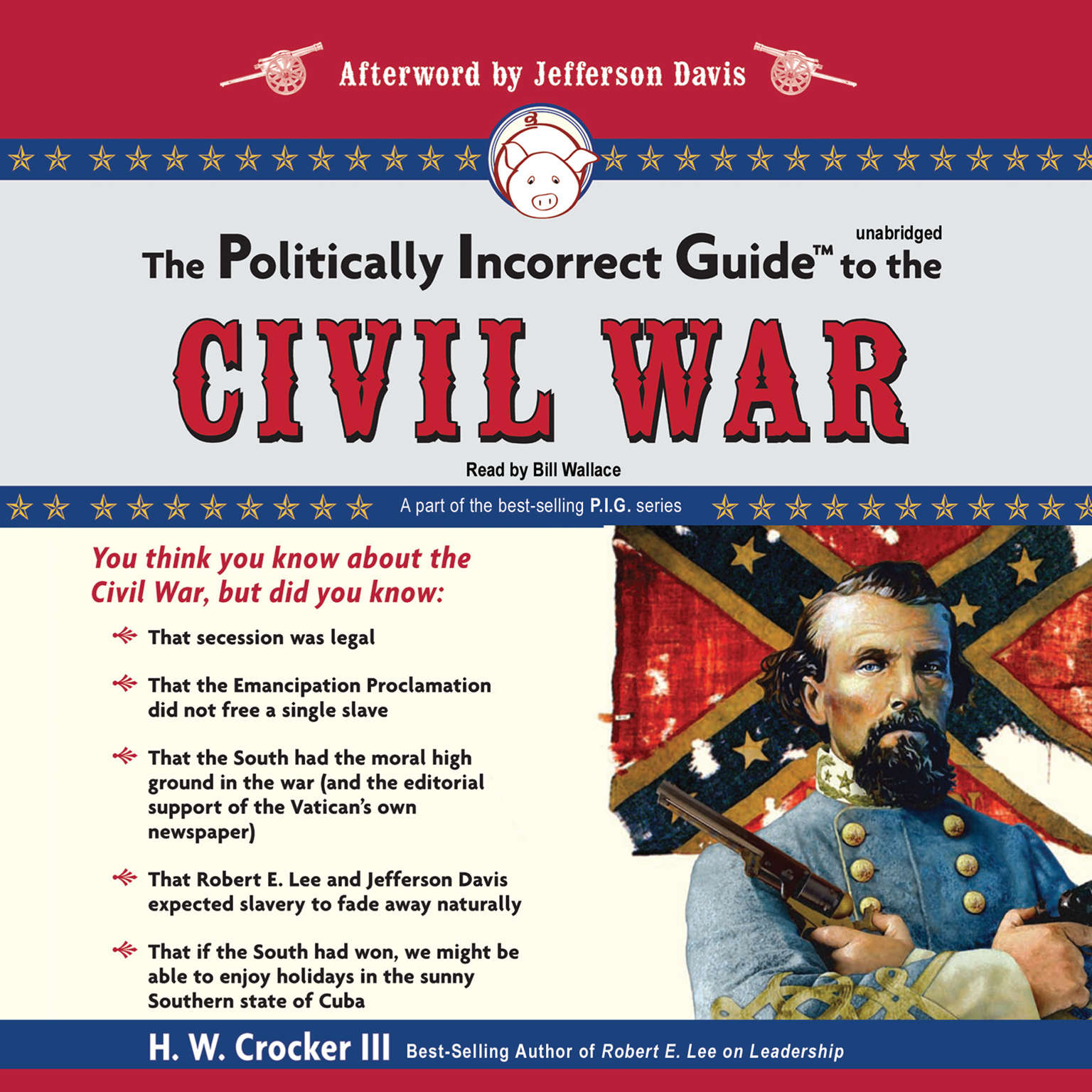 Printable The Politically Incorrect Guide to the Civil War Audiobook Cover Art