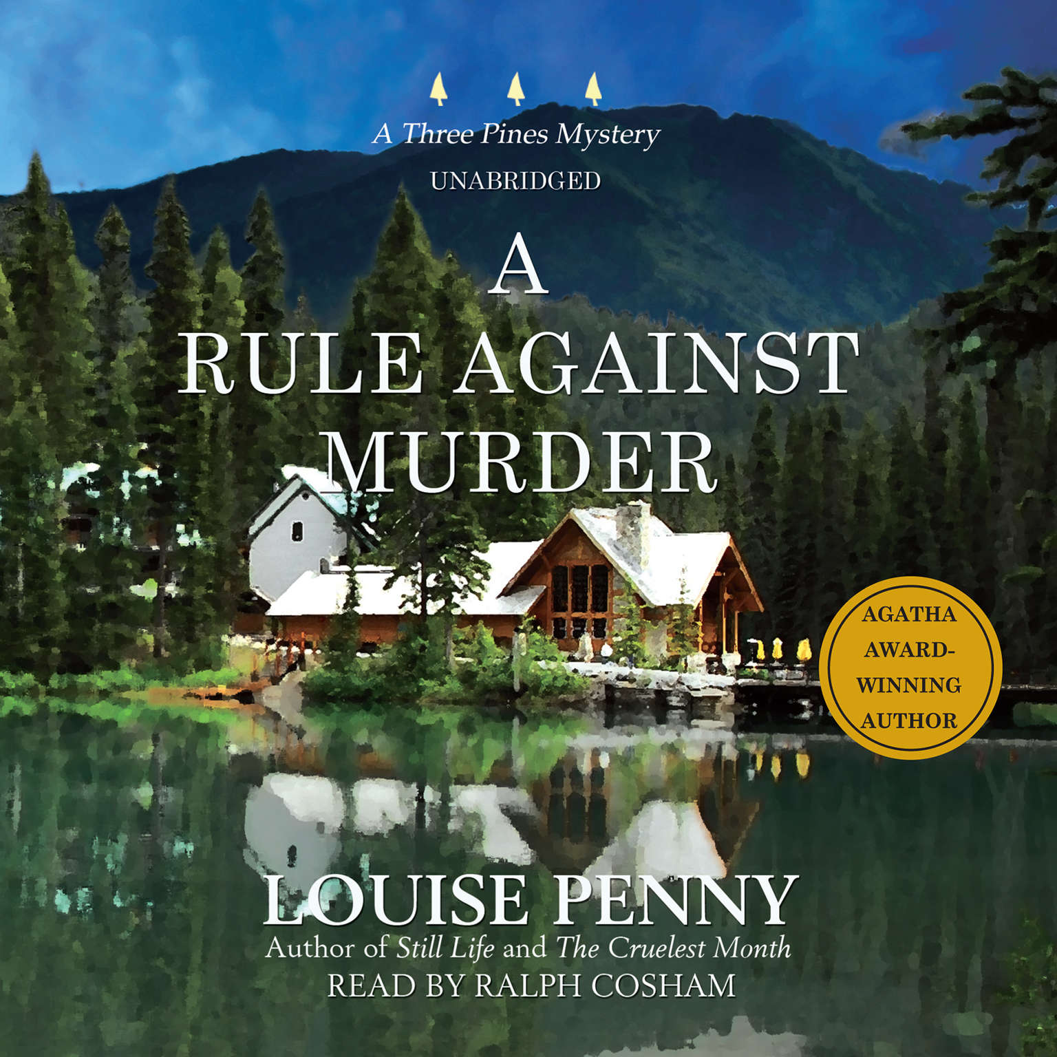 Printable A Rule against Murder: A Three Pines Mystery Audiobook Cover Art
