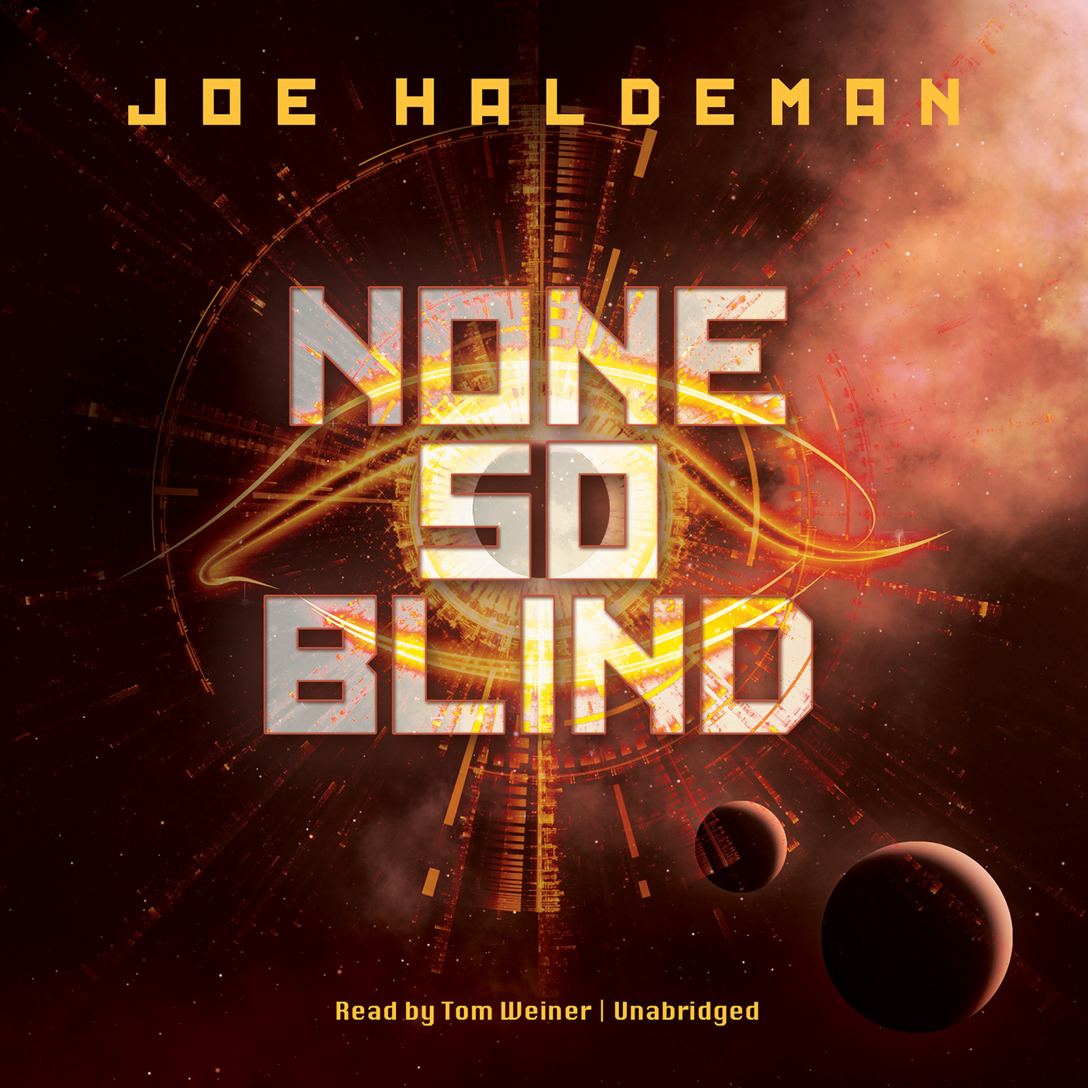 Printable None So Blind Audiobook Cover Art
