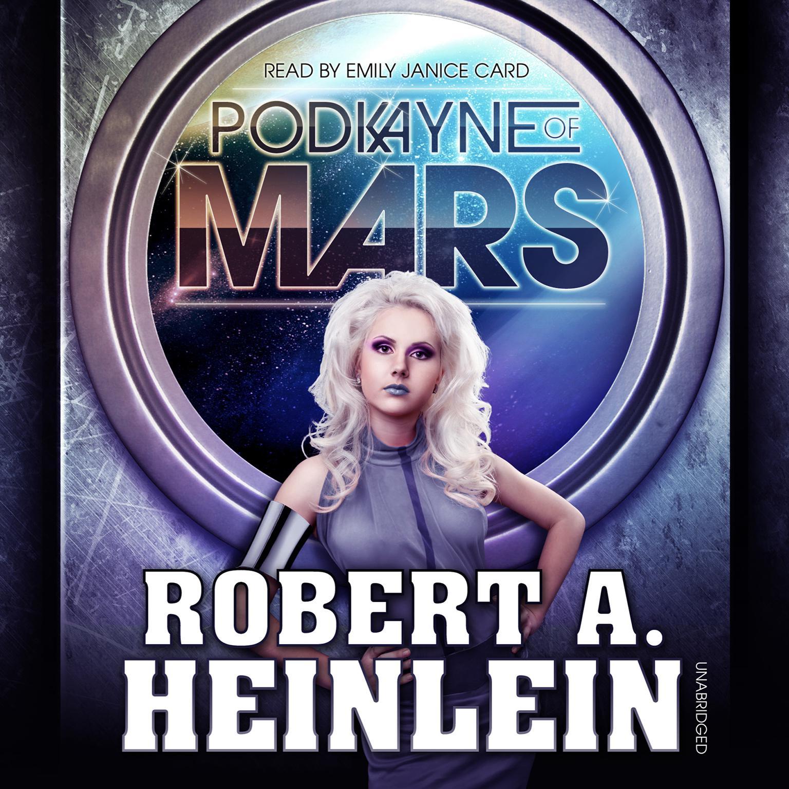 Printable Podkayne of Mars Audiobook Cover Art