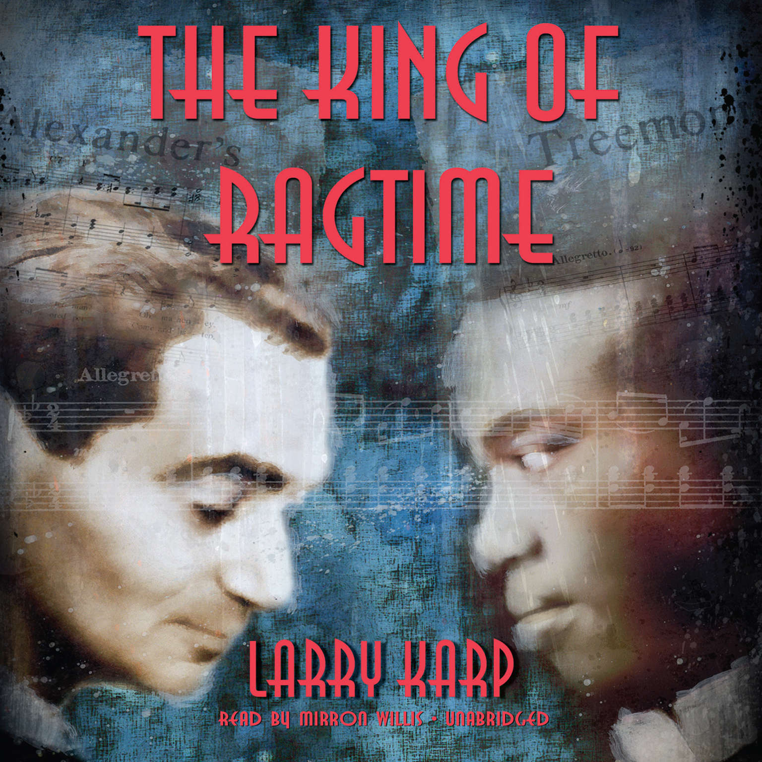 Printable The King of Ragtime Audiobook Cover Art