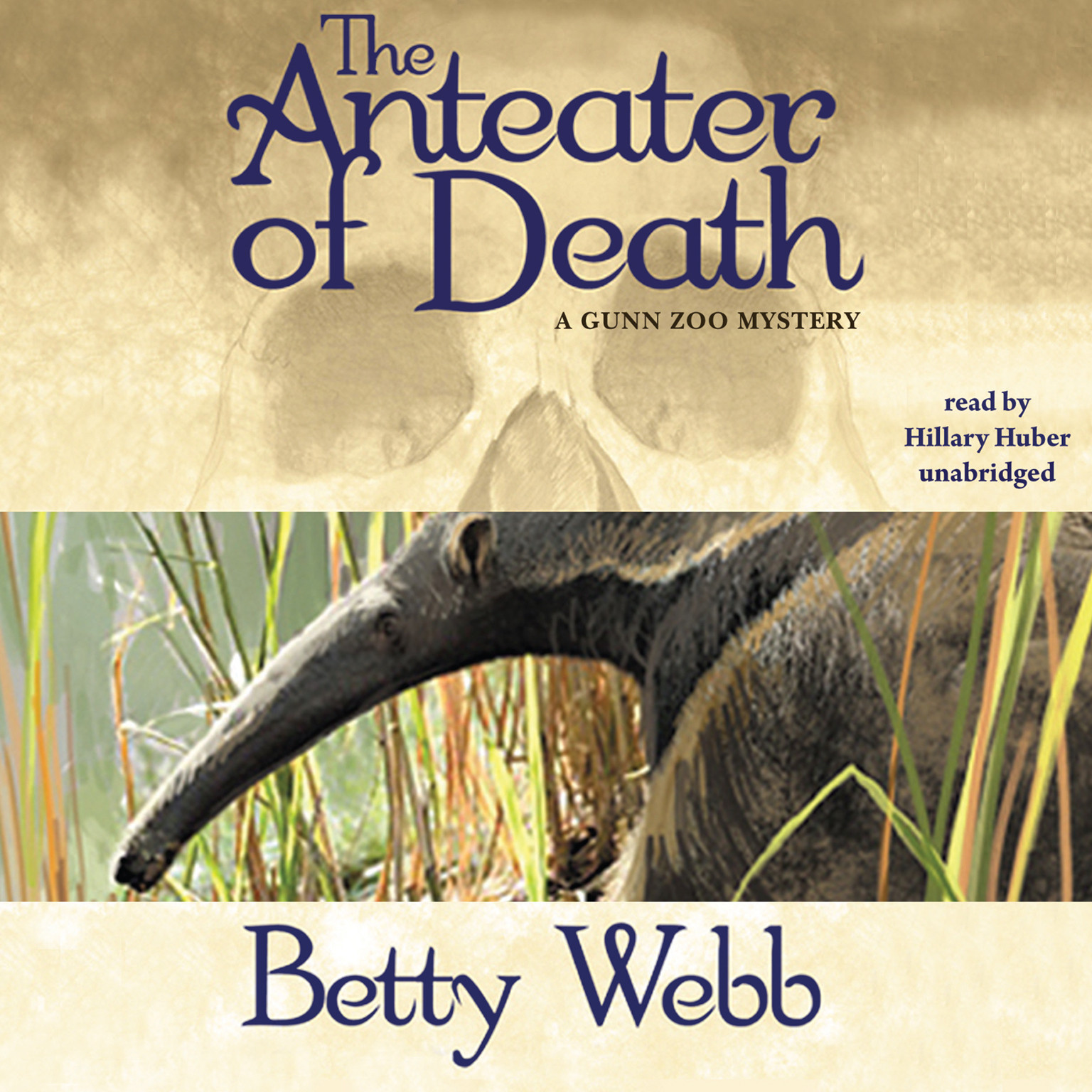 Printable The Anteater of Death: A Gunn Zoo Mystery Audiobook Cover Art
