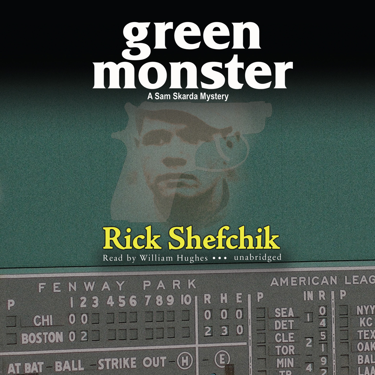 Printable Green Monster Audiobook Cover Art