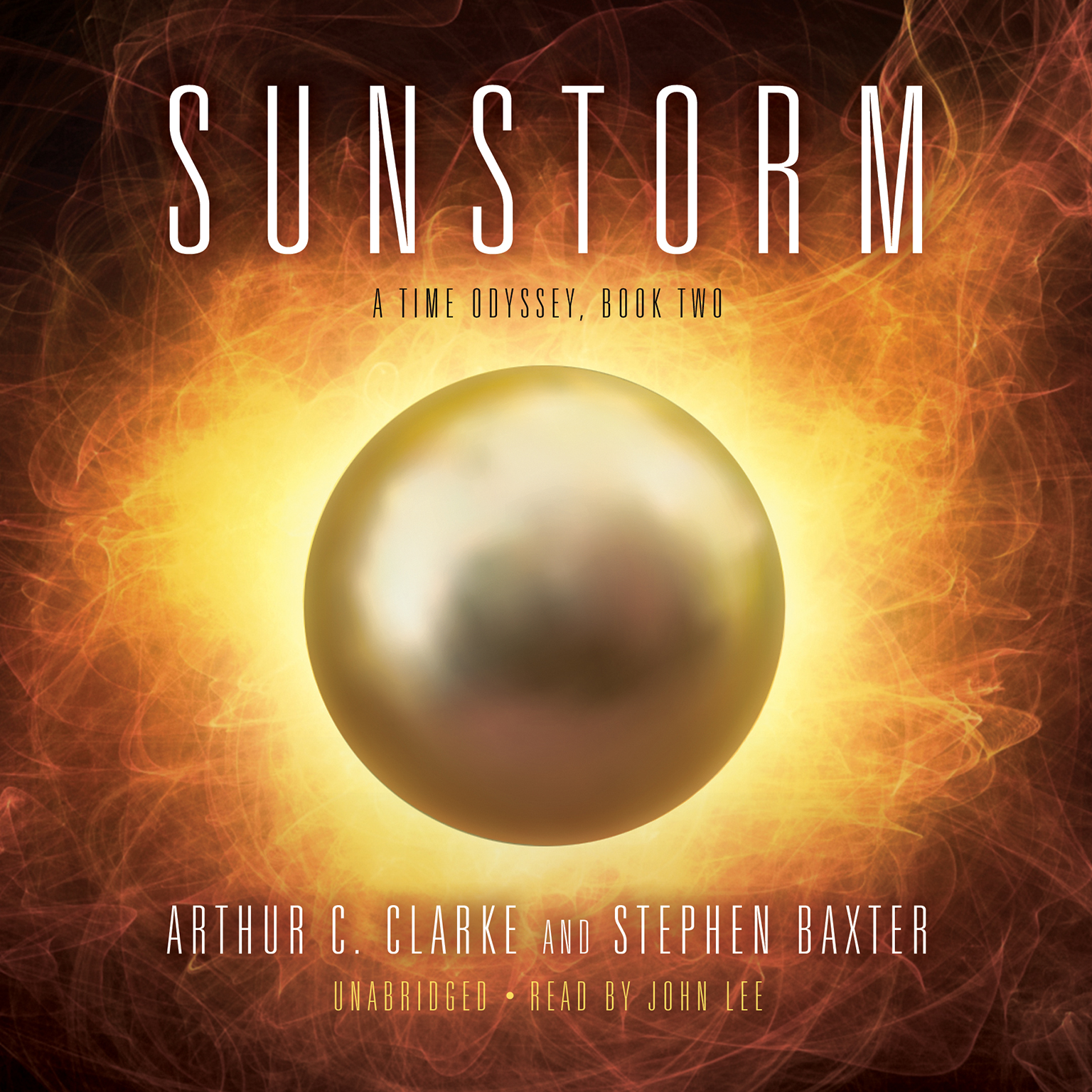 Printable Sunstorm Audiobook Cover Art