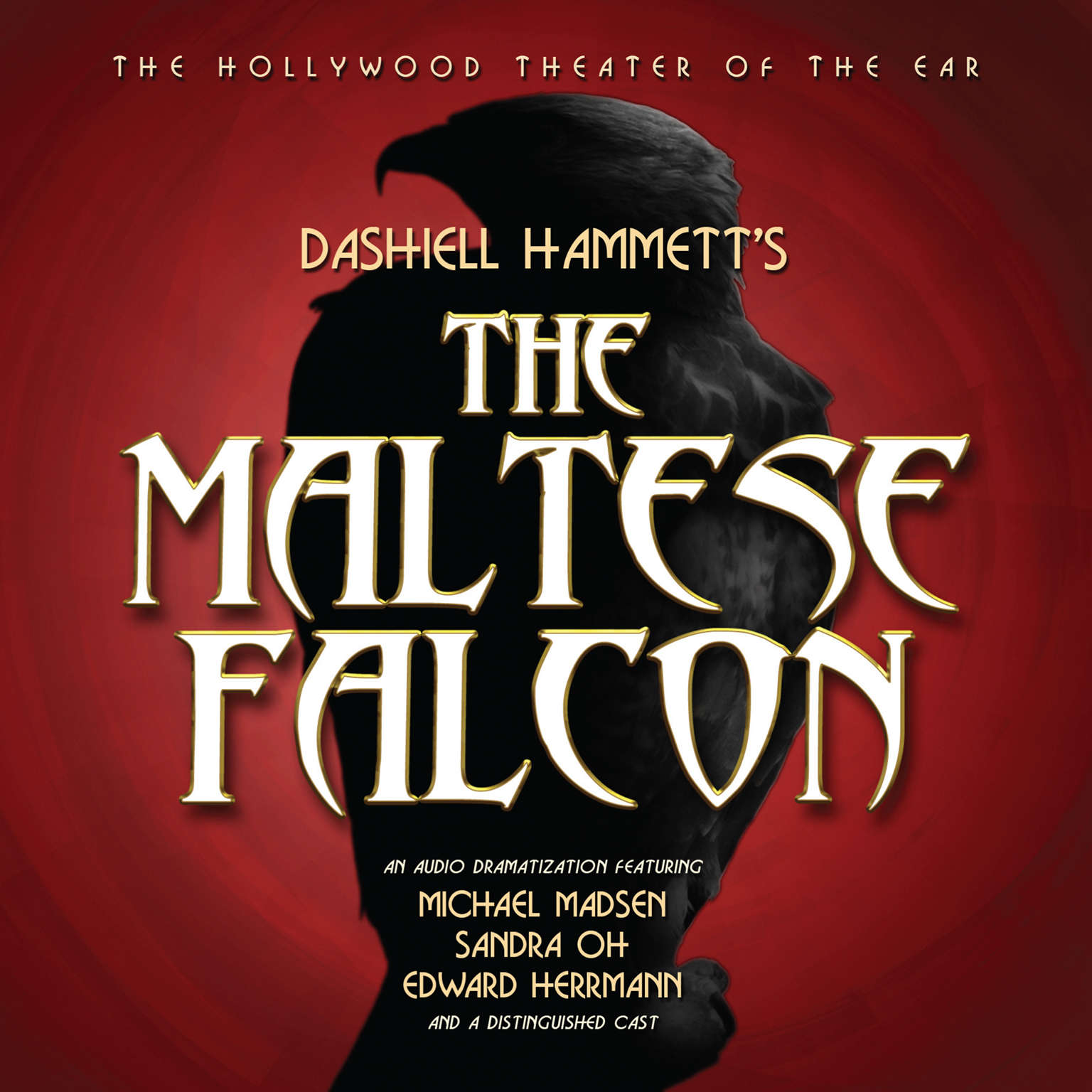 Printable The Maltese Falcon Audiobook Cover Art