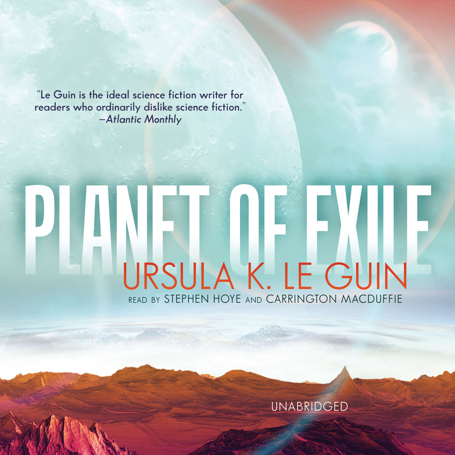 Printable Planet of Exile Audiobook Cover Art