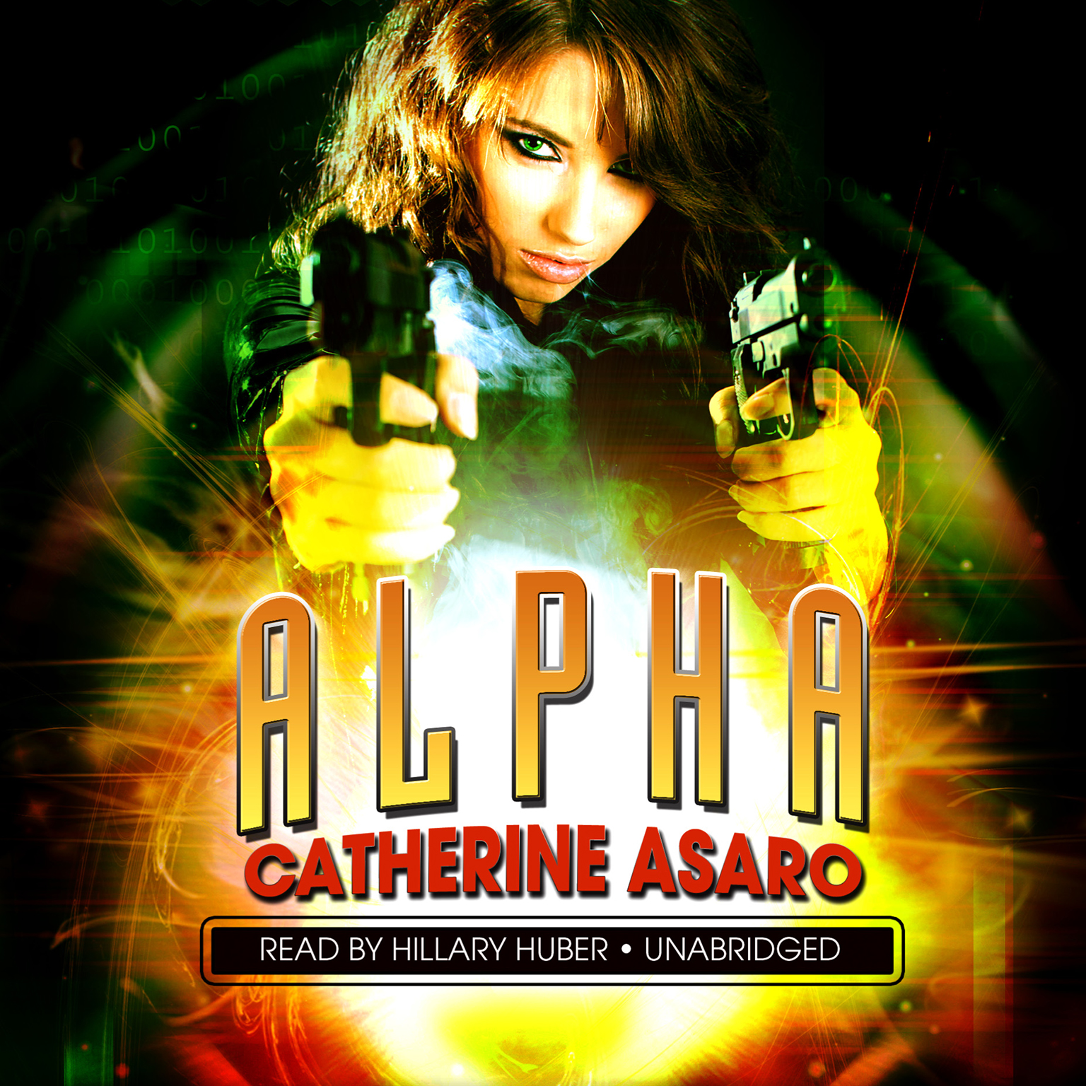 Printable Alpha Audiobook Cover Art