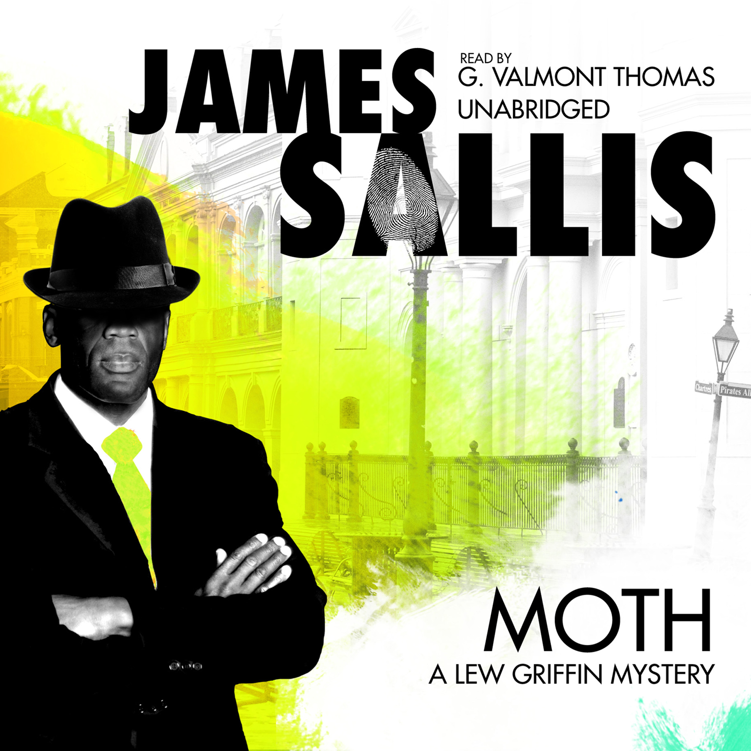 Printable Moth: A Lew Griffin Mystery Audiobook Cover Art