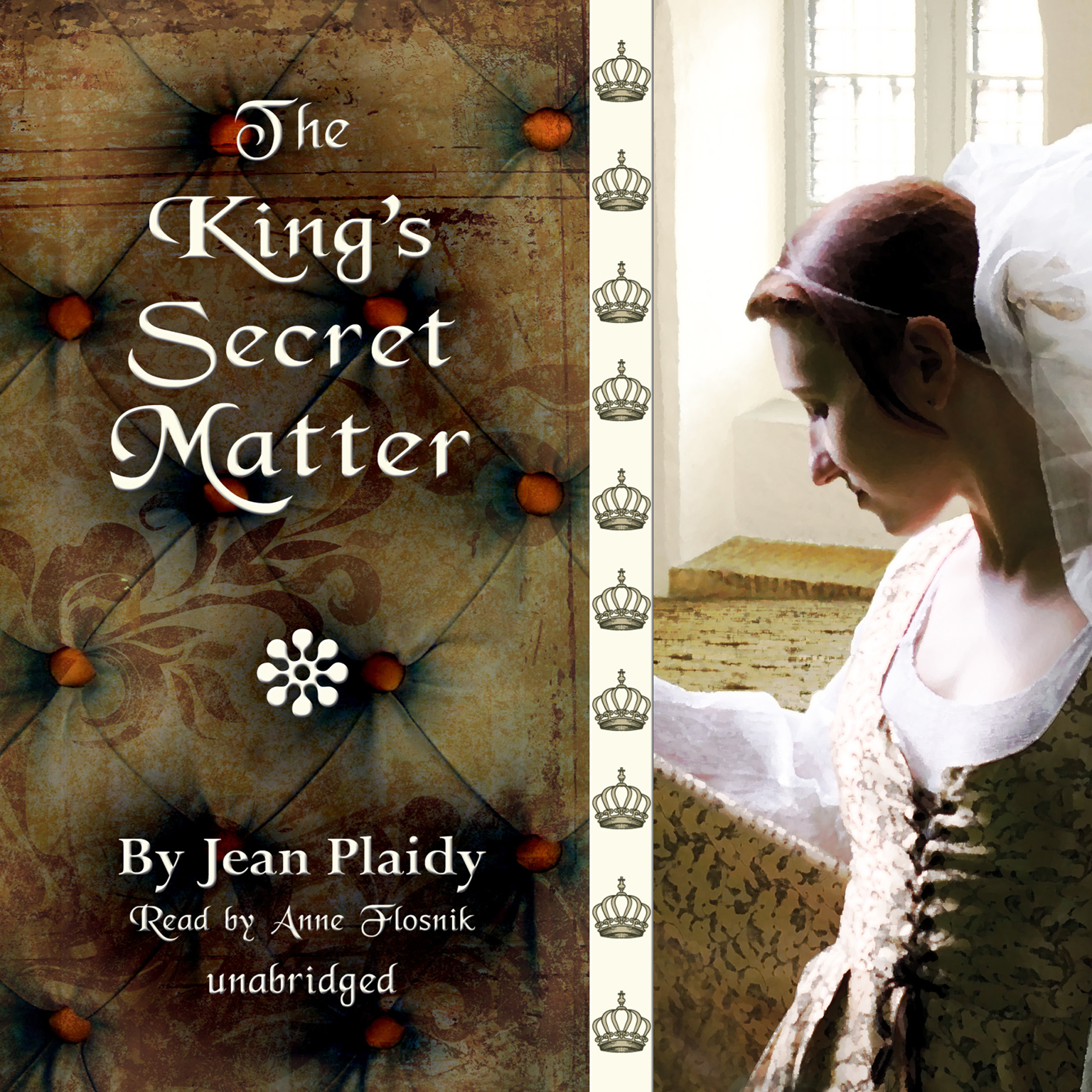 Printable The King's Secret Matter Audiobook Cover Art