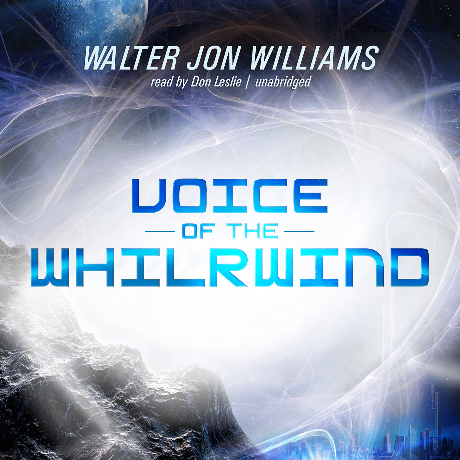 Printable Voice of the Whirlwind Audiobook Cover Art