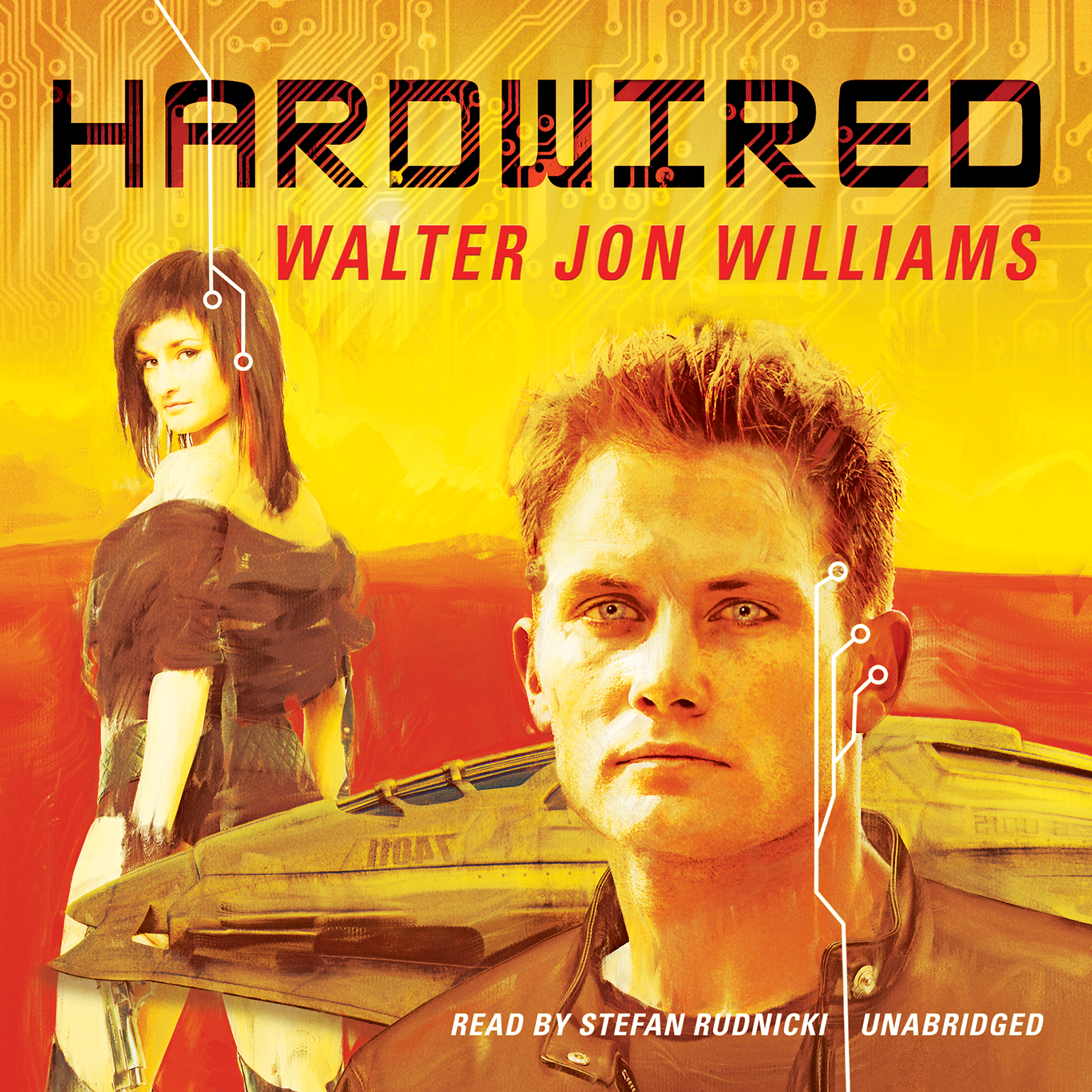 Printable Hardwired Audiobook Cover Art