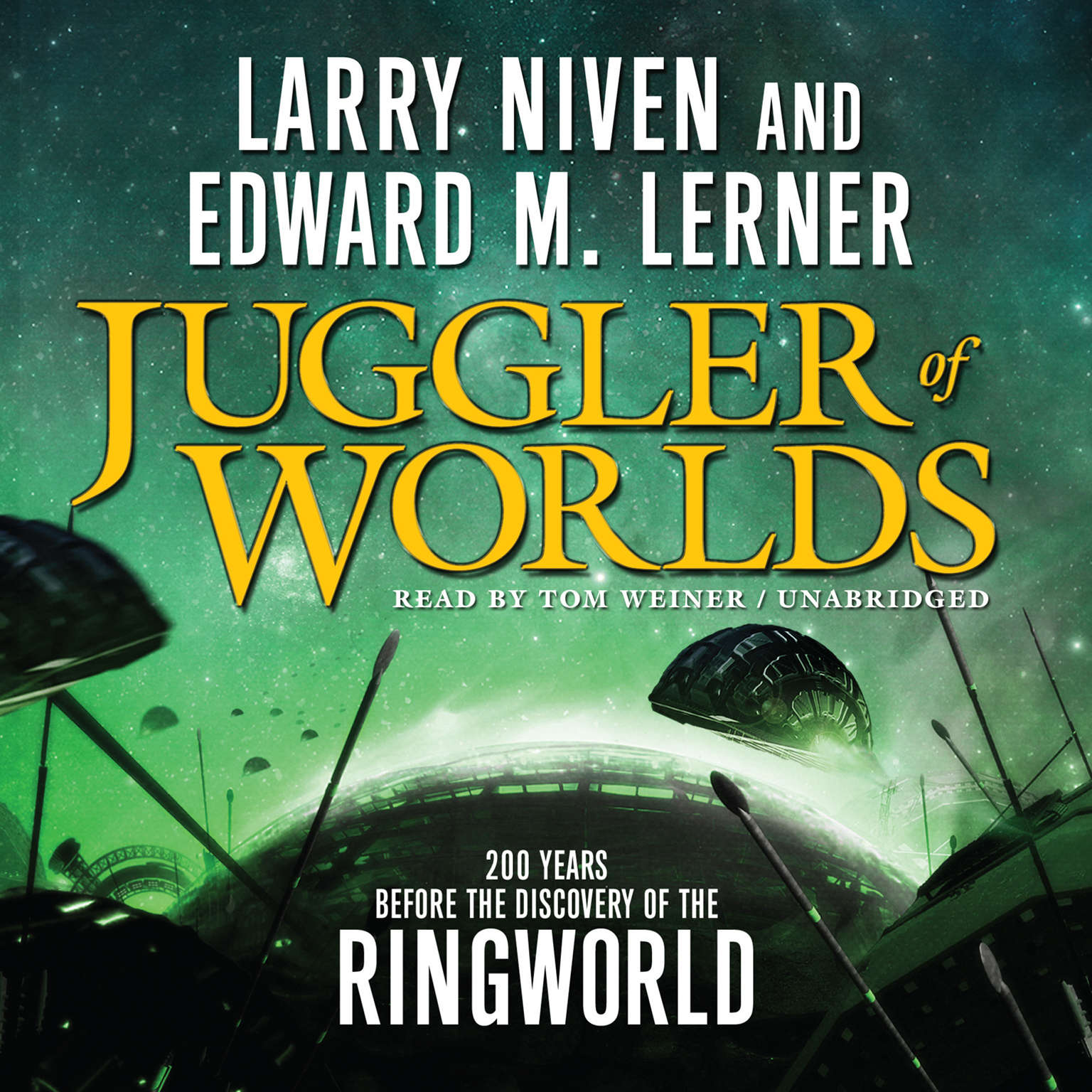 Printable Juggler of Worlds Audiobook Cover Art