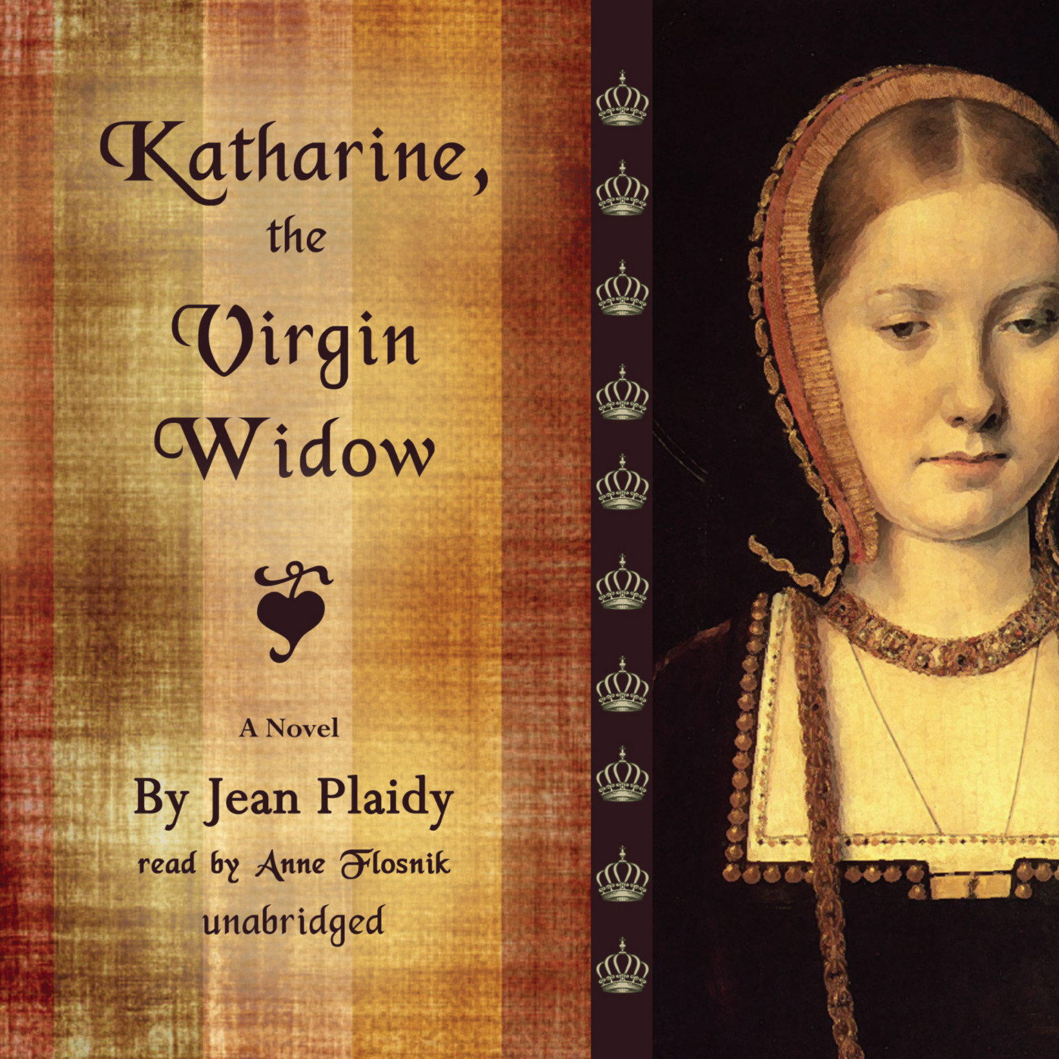 Printable Katharine, the Virgin Widow: A Novel Audiobook Cover Art