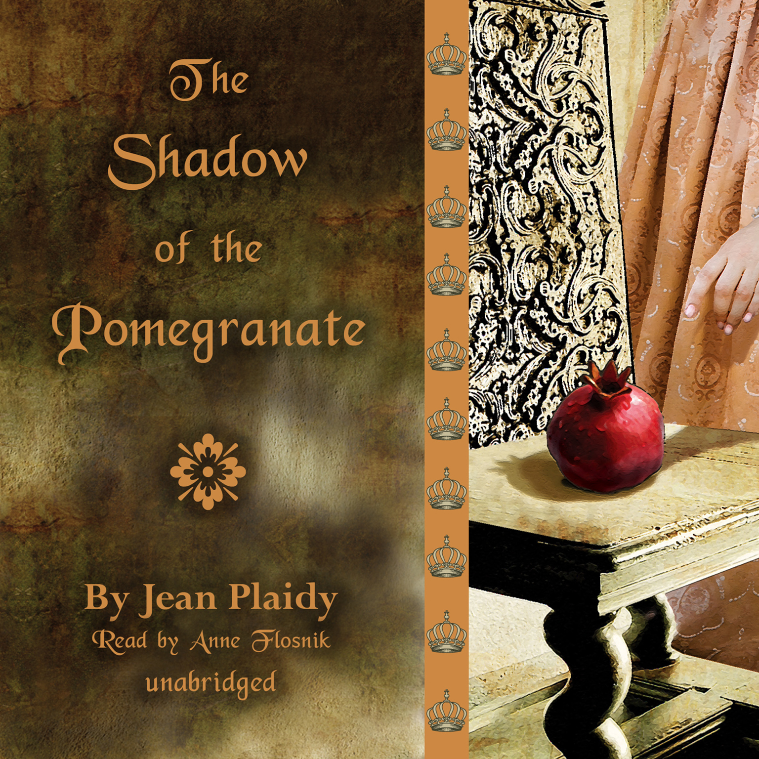 Printable The Shadow of the Pomegranate Audiobook Cover Art