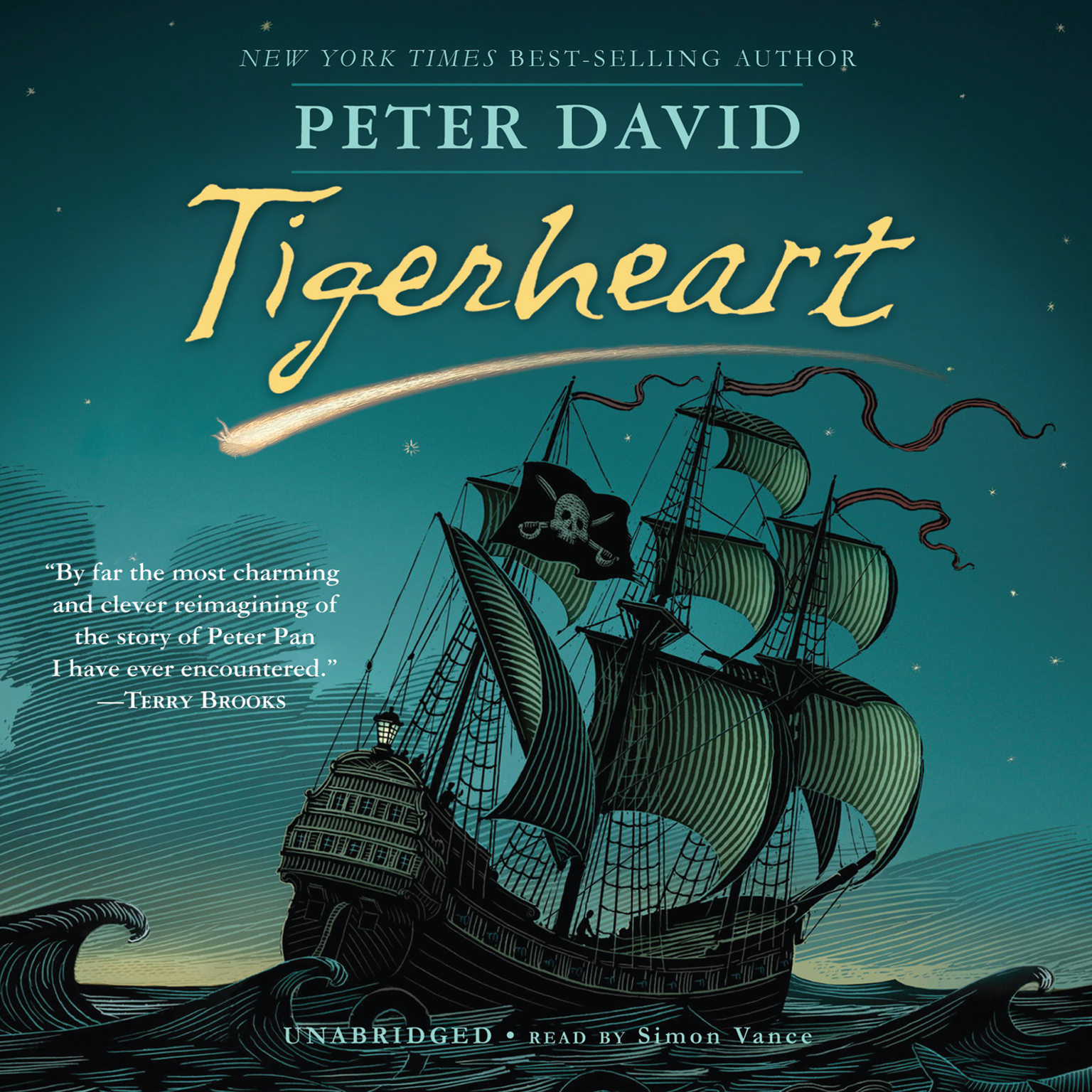 Printable Tigerheart Audiobook Cover Art